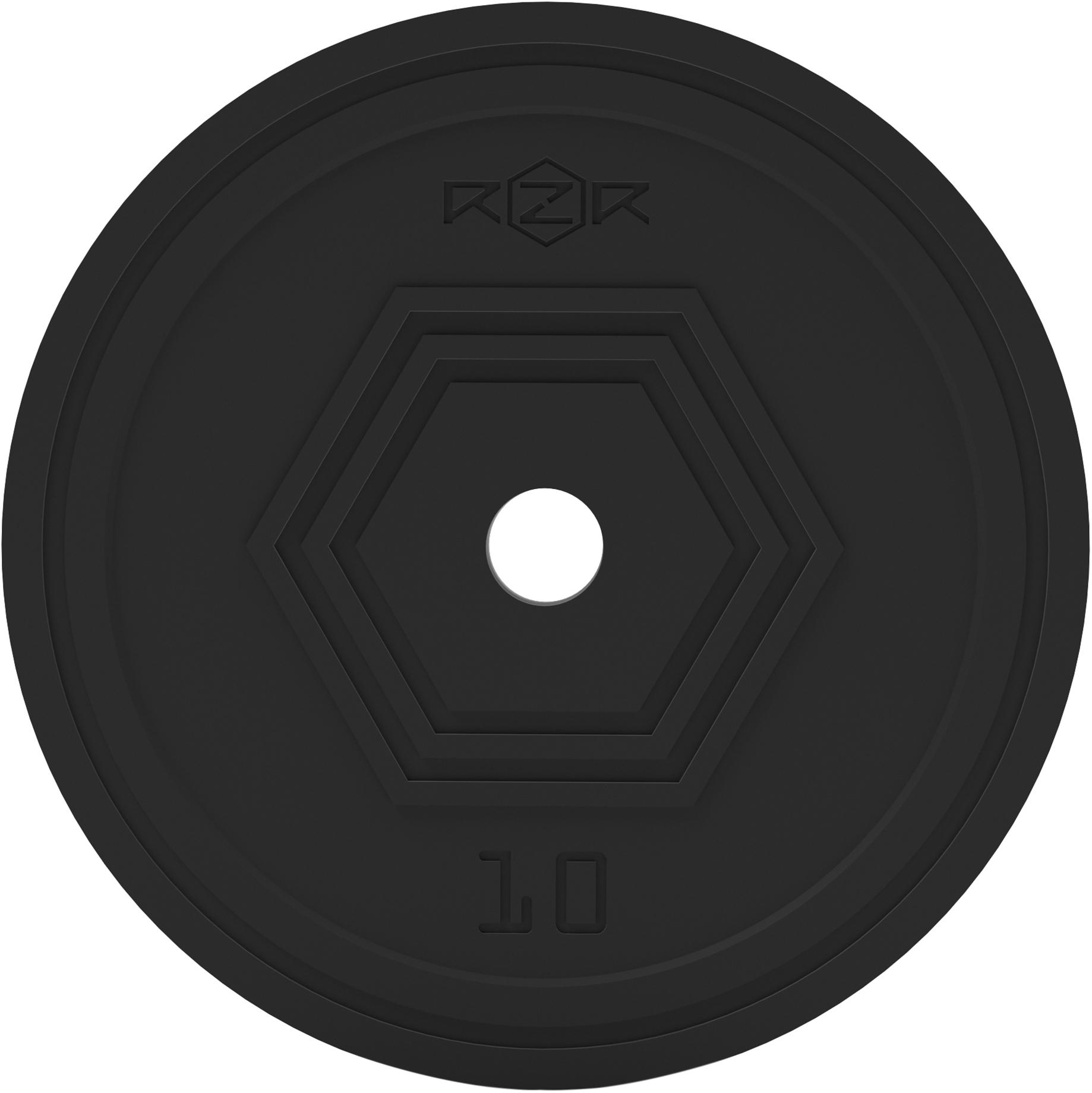 RZR Блин стальной обрезиненный, 10 кг -R100 rzr блин стальной обрезиненный rzr 20 кг