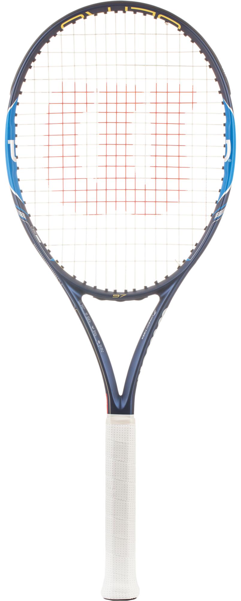 Wilson Ракетка для большого тенниса Wilson Ultra 97, размер 4 wilson набор мячей для большого тенниса wilson australian open 3 ball can размер без размера