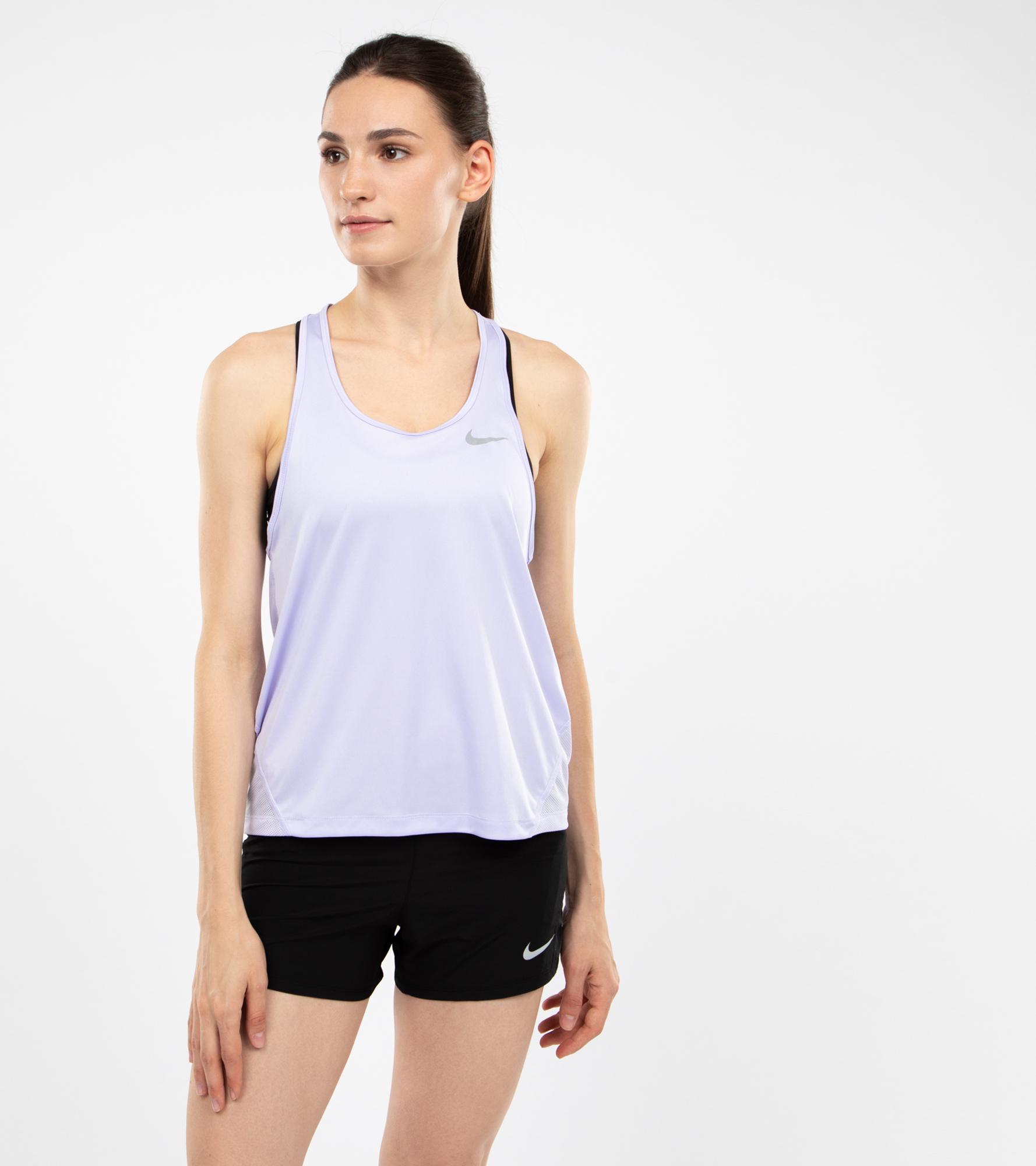 Nike Майка женская Nike Miler, размер 46-48 nike майка женская nike air размер 46 48