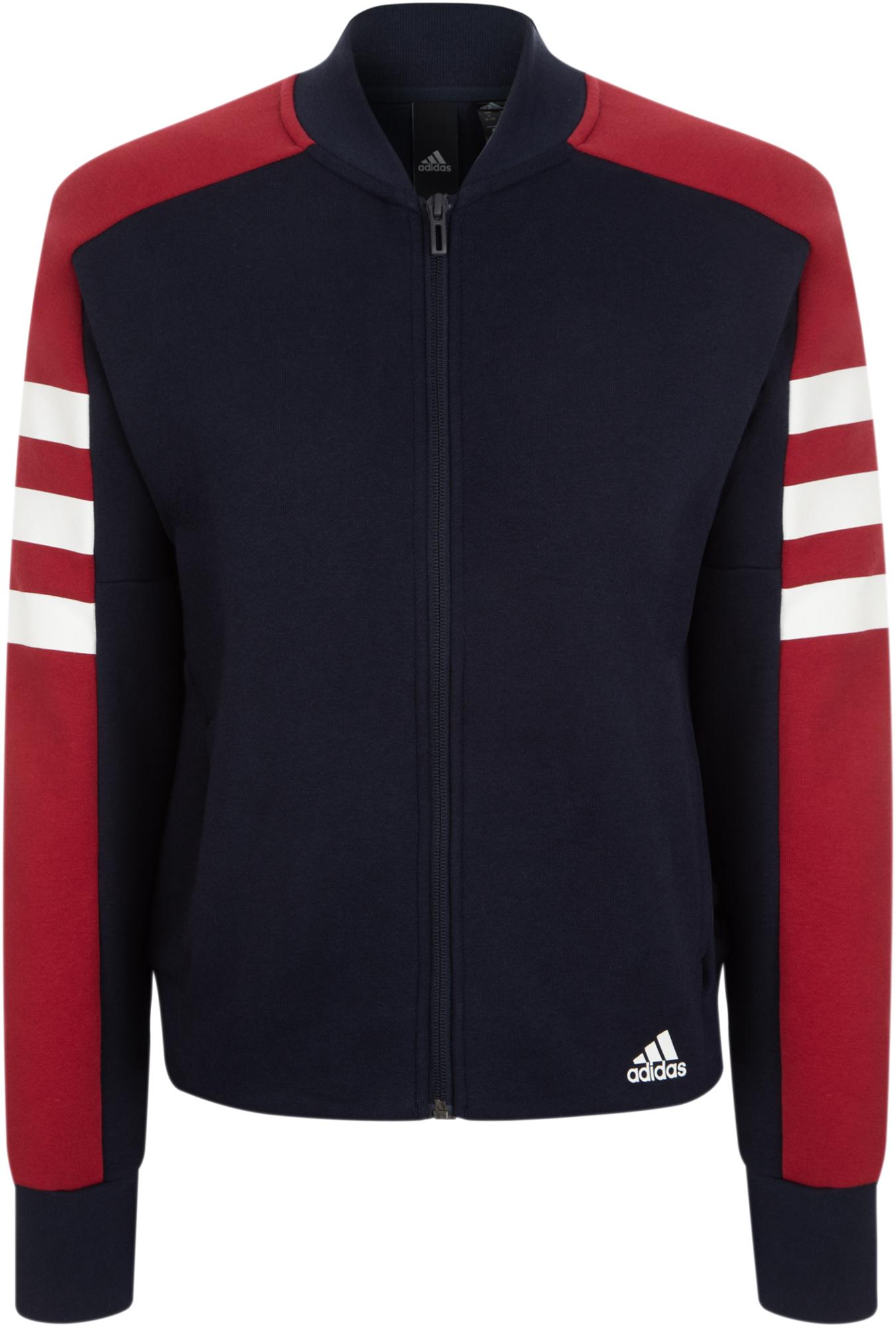 Adidas Толстовка женская Adidas Sport ID, размер 50-52 цена