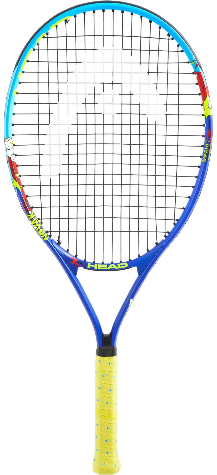 Head Ракетка для большого тенниса детская Head Novak 25, размер Без размера head ракетка для большого тенниса детская head novak 23 размер без размера