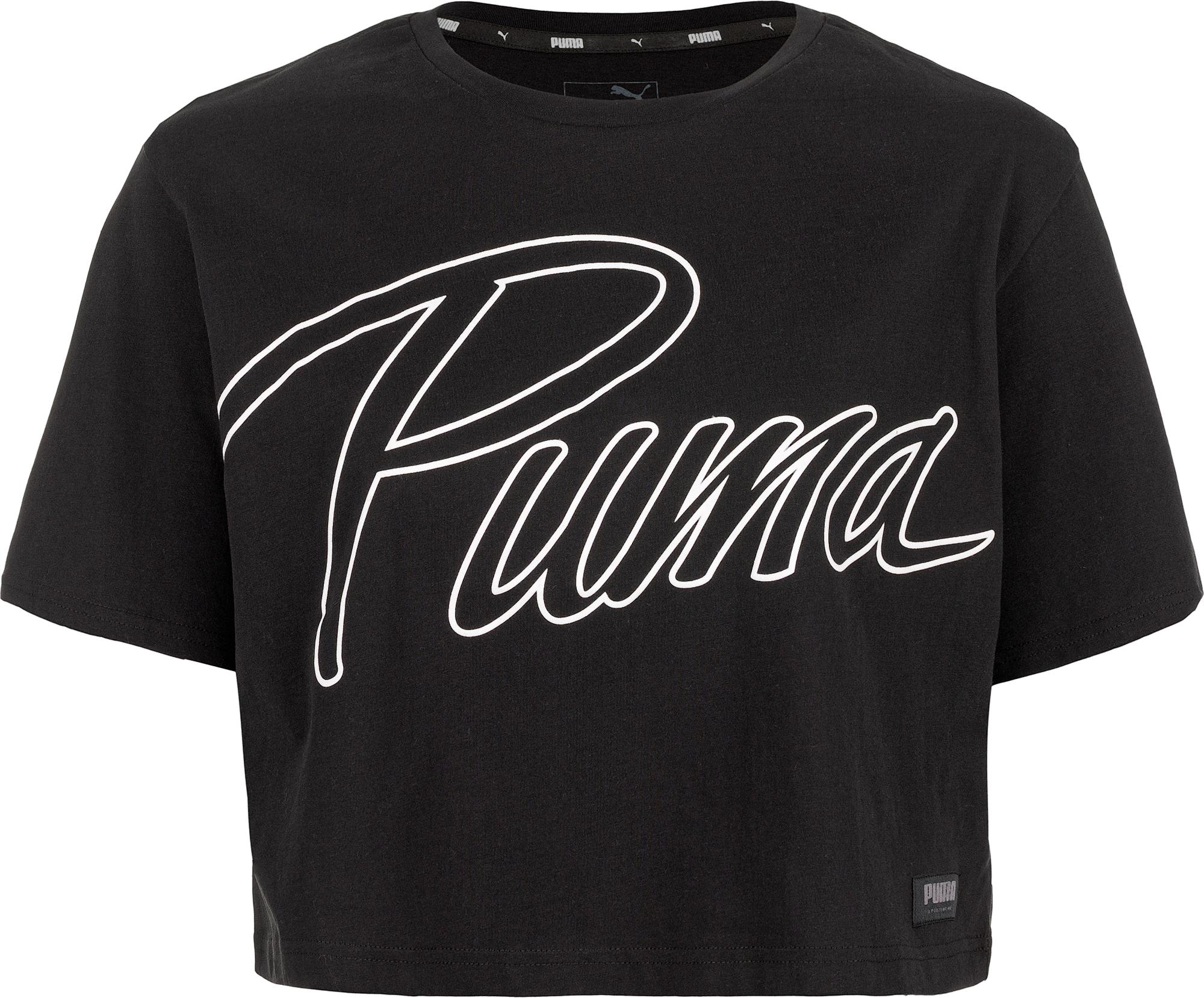 PUMA Футболка женская Puma Athletics Fashion Tee, размер 46-48