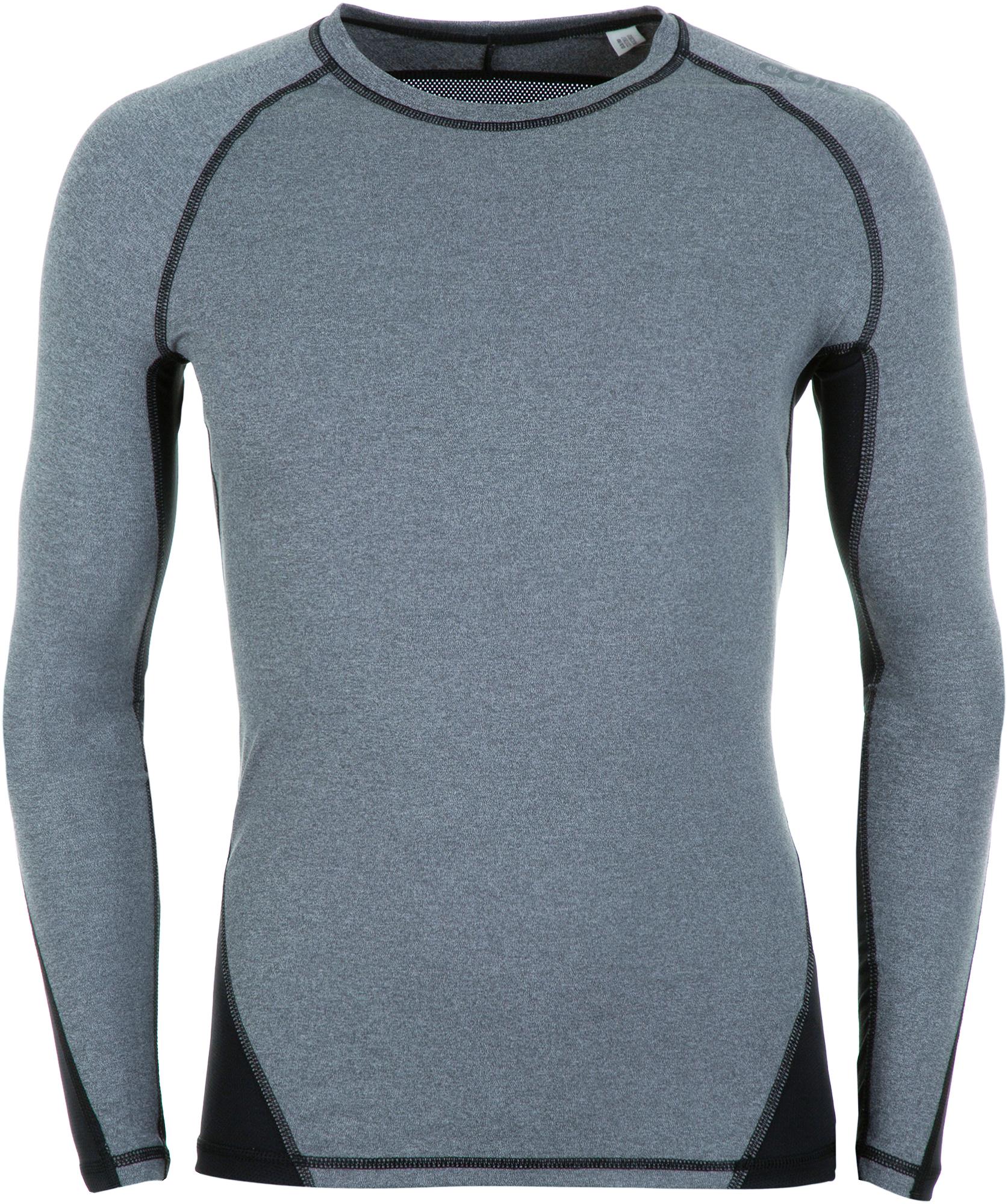 Adidas Лонгслив мужской Adidas Alphaskin Sport Heather, размер 52-54 цена 2017