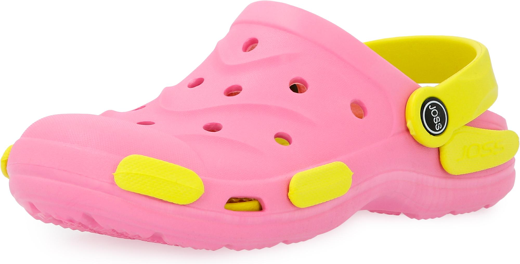 цена Joss Шлепанцы для девочек Joss Garden Shoes, размер 28-29 онлайн в 2017 году