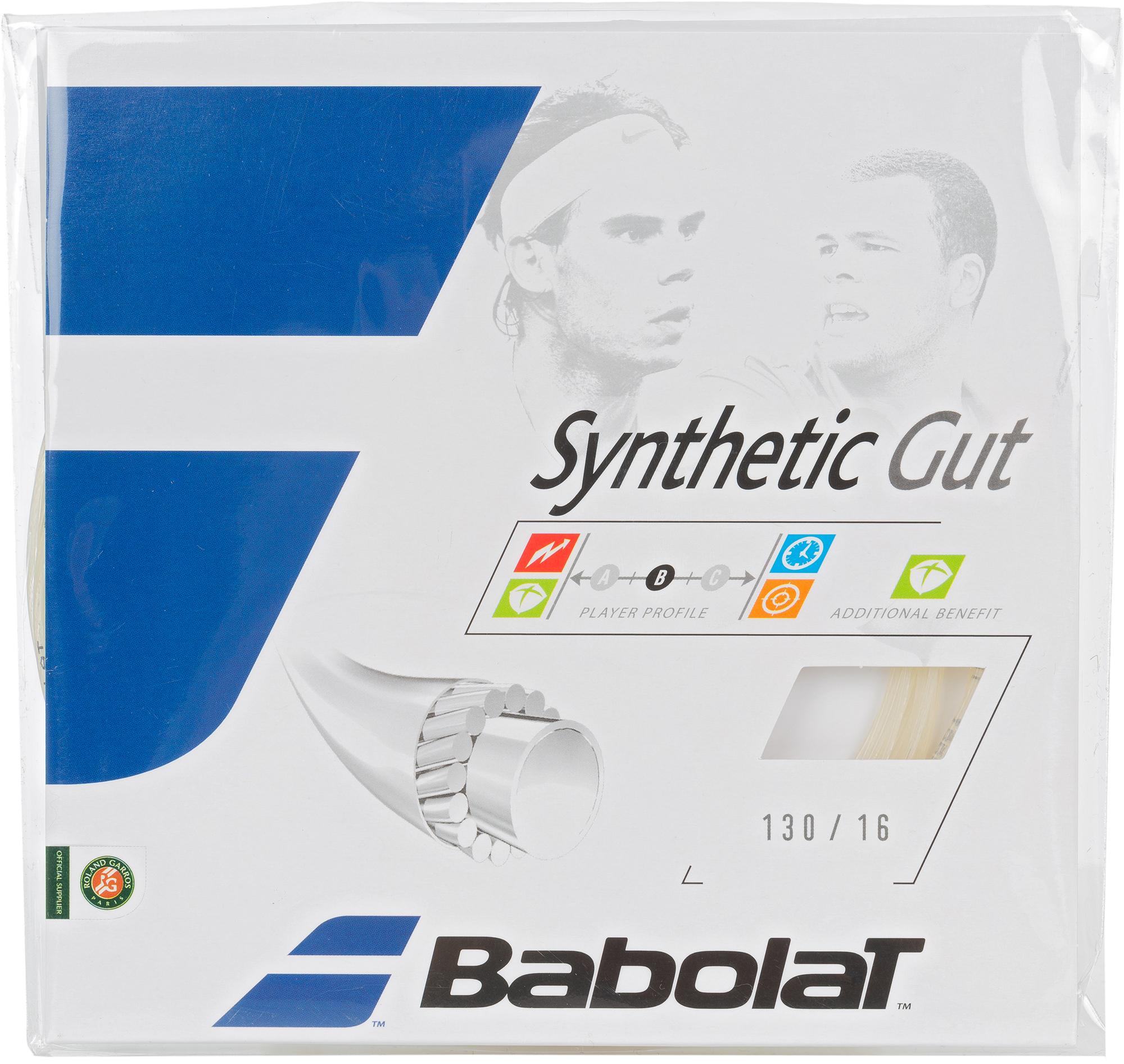 Babolat Струна Babolat Synthetic Gut 12M, 130/16 теннисный инвентарь babolat tonic string