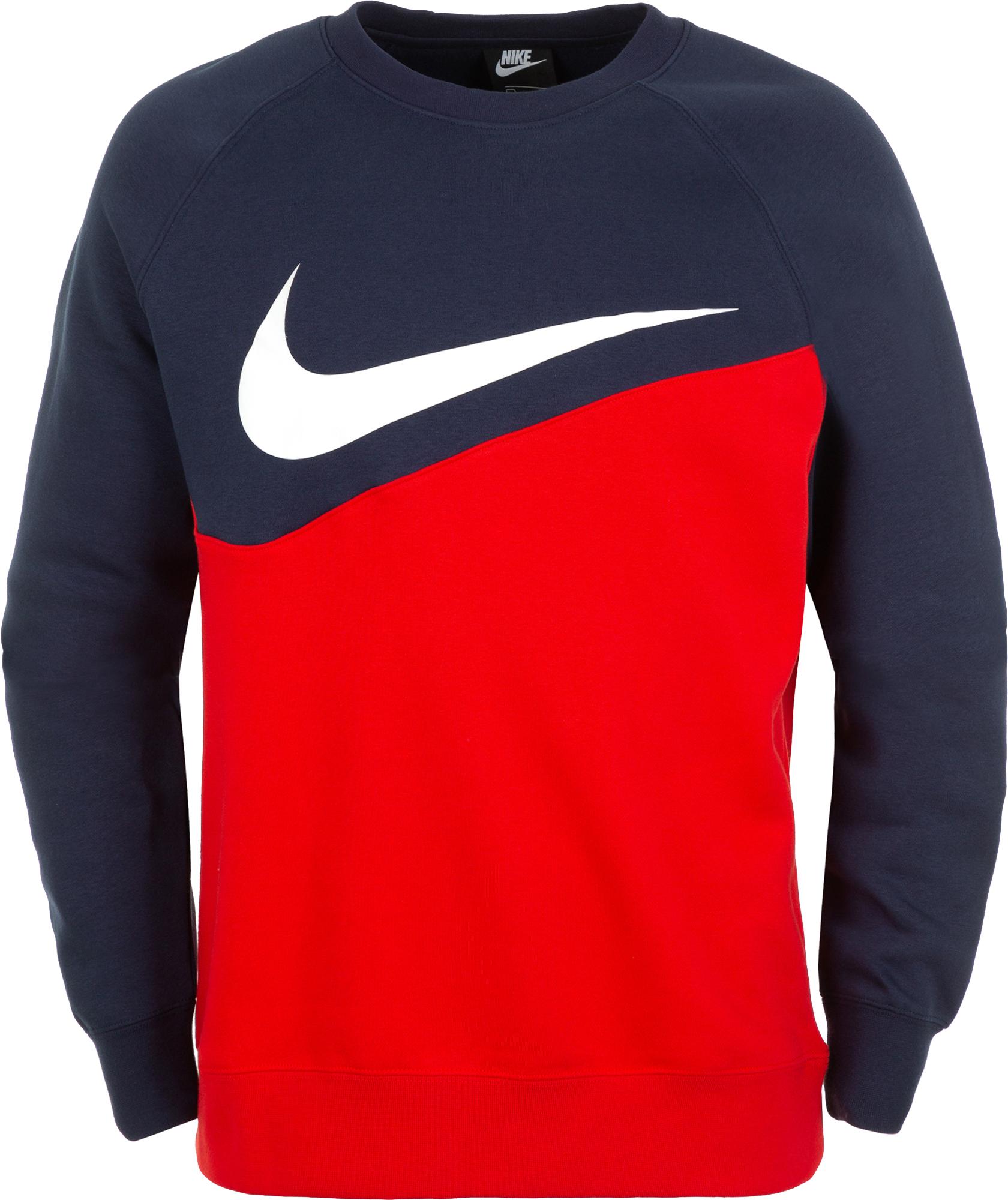 Nike Свитшот мужской Nike Swoosh Crew, размер 52-54 цены онлайн