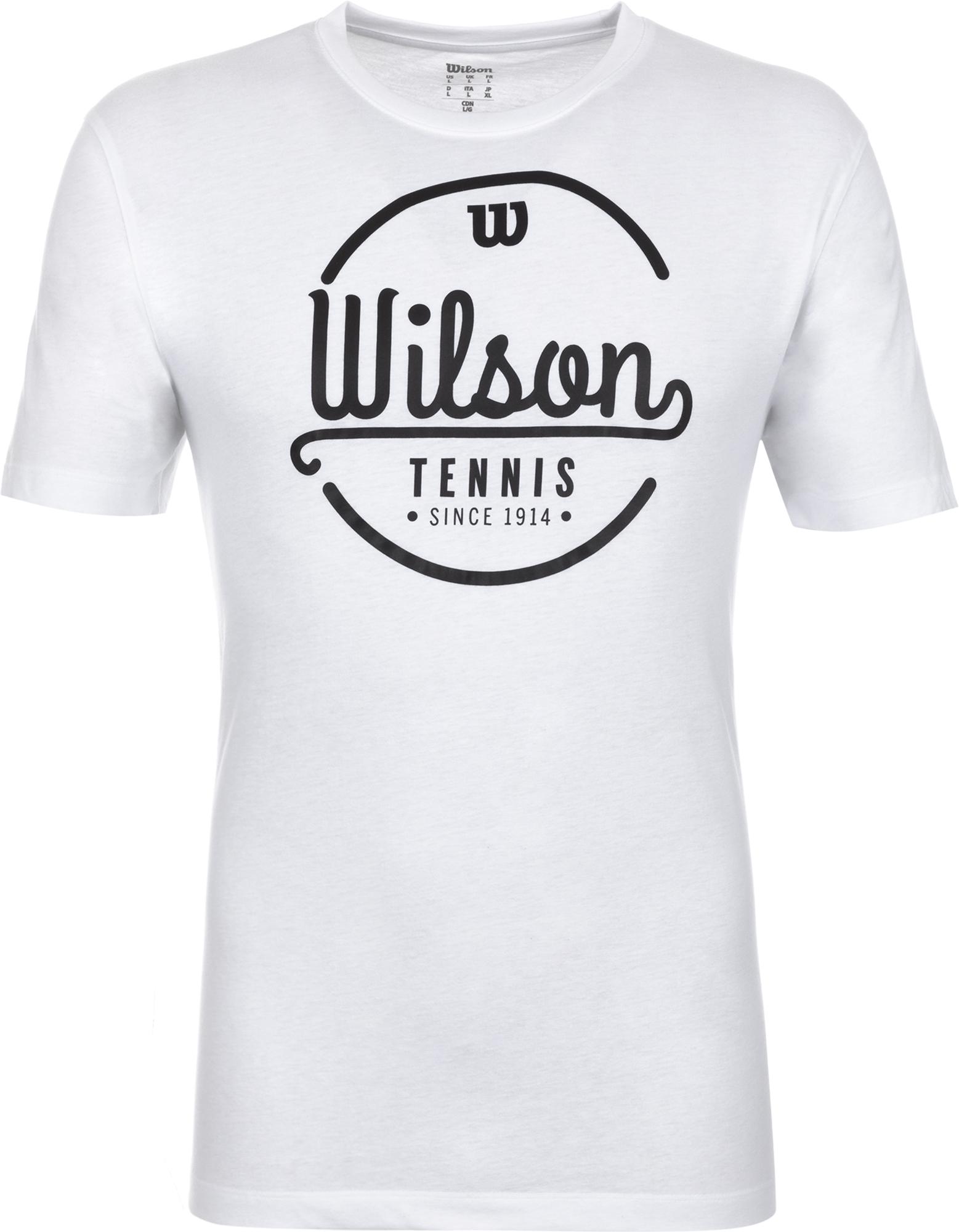 купить Wilson Футболка мужская Wilson Lineage Tech Tee, размер 54-56 по цене 1999 рублей