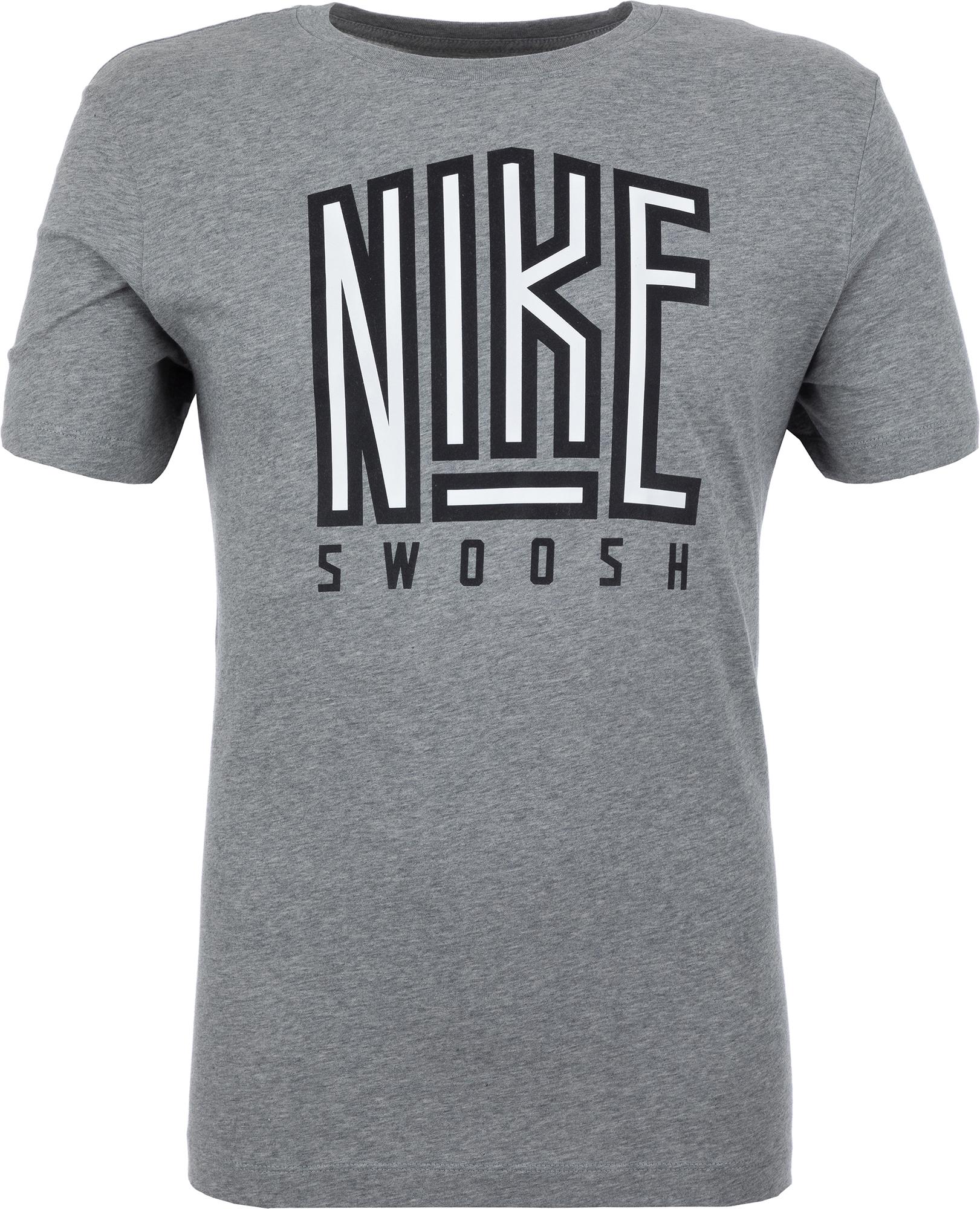 купить Nike Футболка мужская Nike Sportswear Swoosh, размер 52-54 недорого