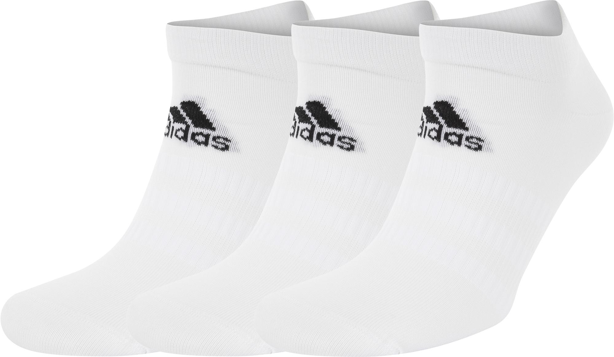 Adidas Носки Adidas Low-Cut, 3 пары, размер 46-48 цена 2017