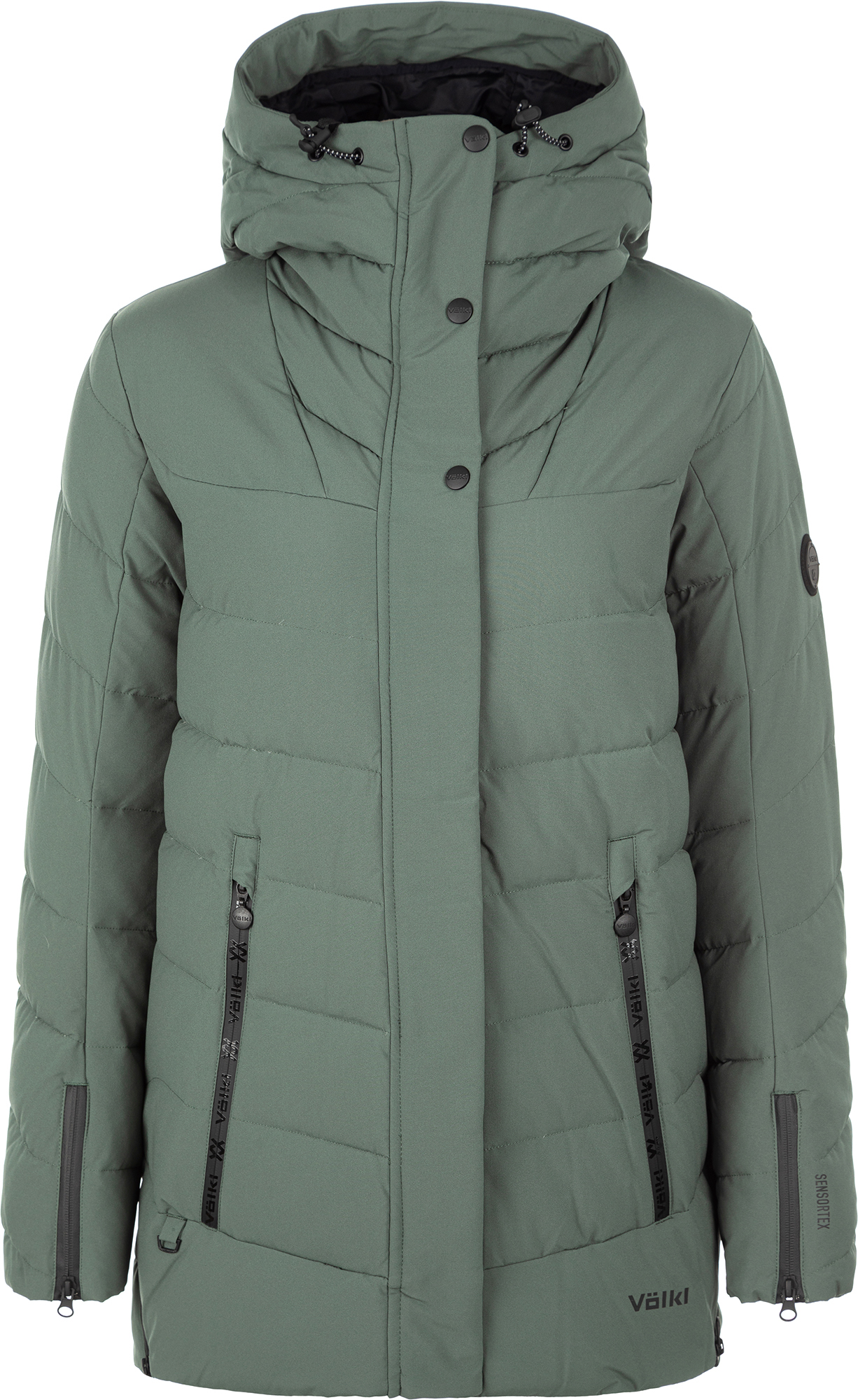 цена Volkl Куртка пуховая женская Volkl, размер 48 онлайн в 2017 году