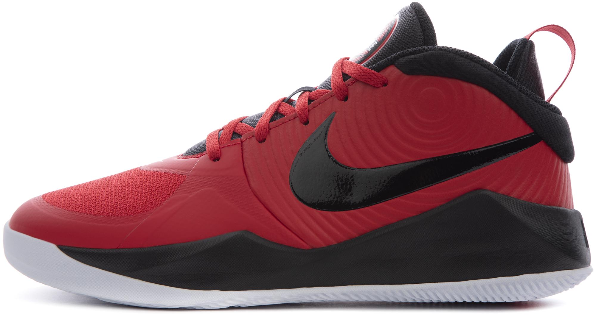 Nike Кроссовки для мальчиков Nike Team Hustle D 9 (Gs), размер 37,5 nike catalyst team soccer ball
