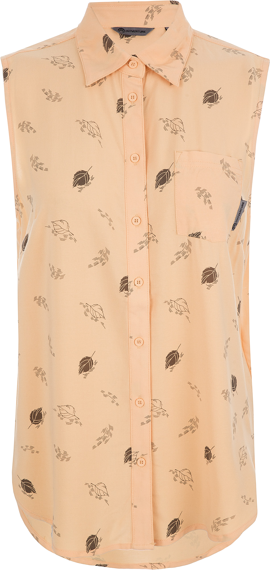 Outventure Рубашка без рукавов женская Outventure, размер 54 цена 2017