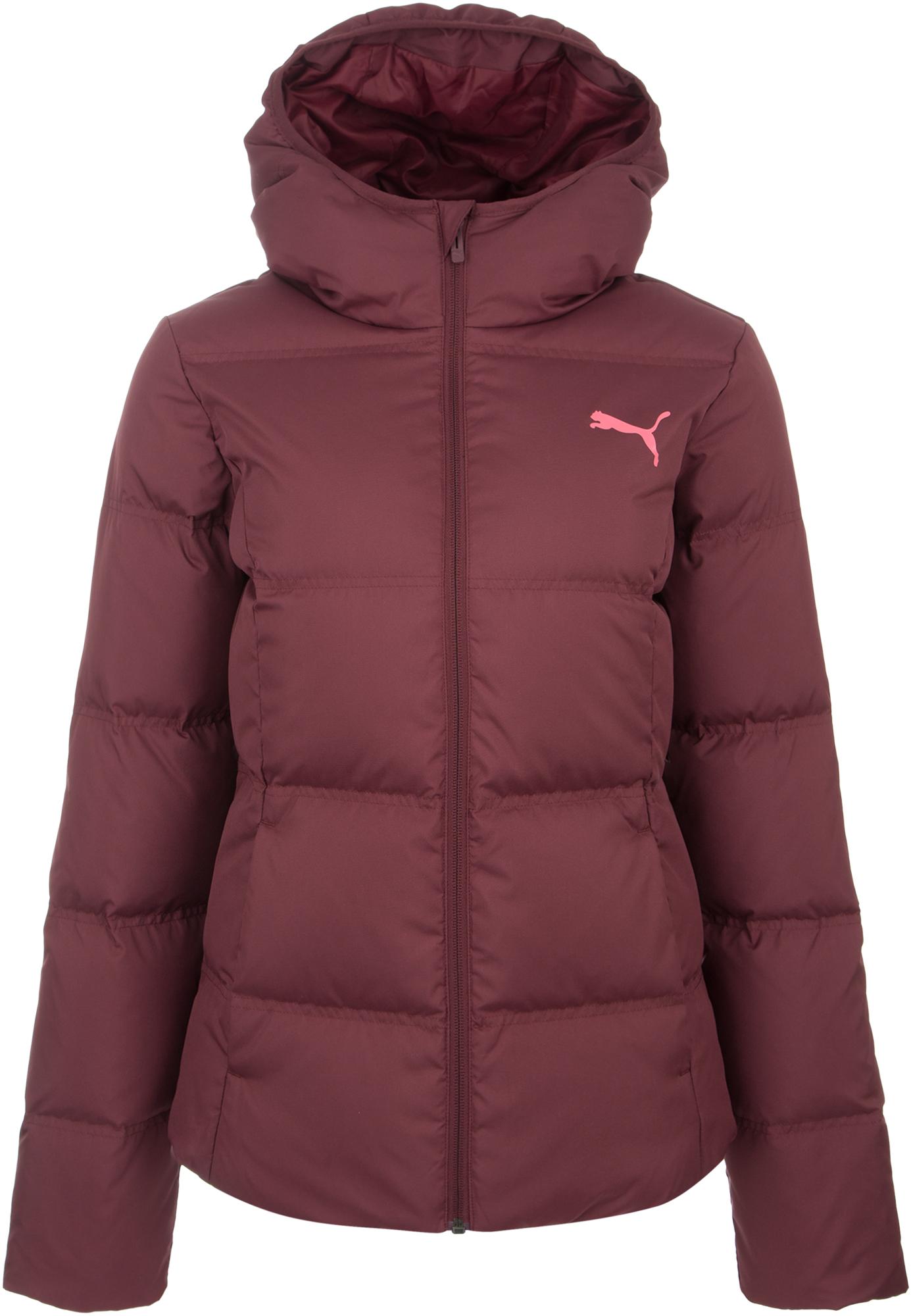 пуховик женский puma 70 30 480 down jacket цвет молочный 85166611 размер m 44 46 Puma Куртка пуховая женская Puma Essentials, размер 46-48