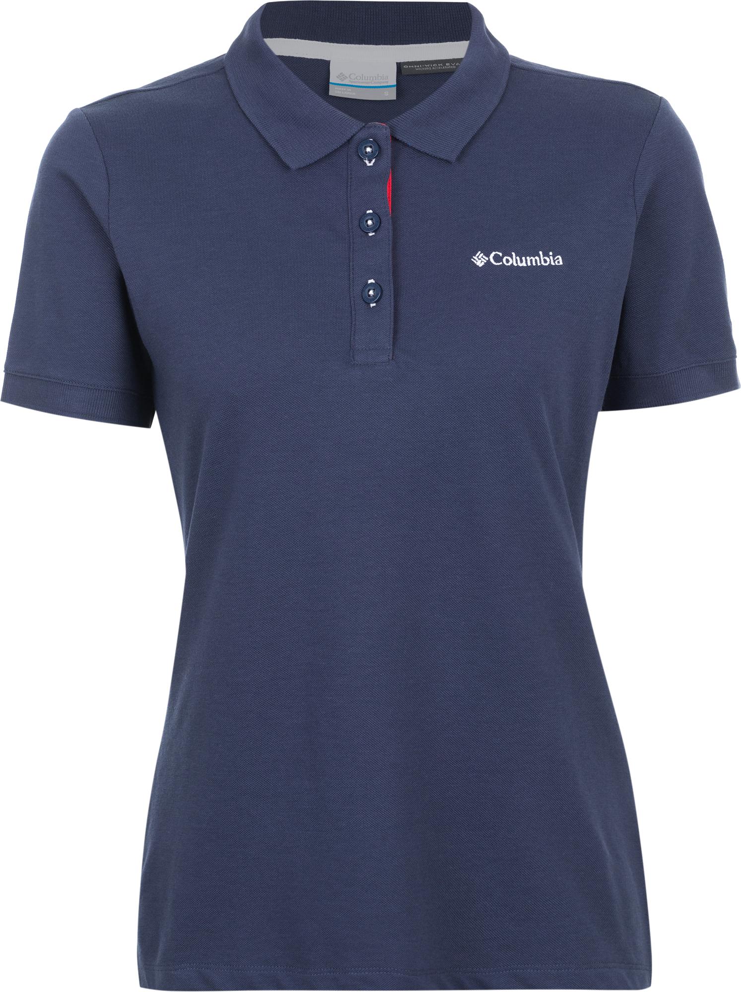 Columbia Поло женское Columbia Cascade Range Solid футболка поло columbia