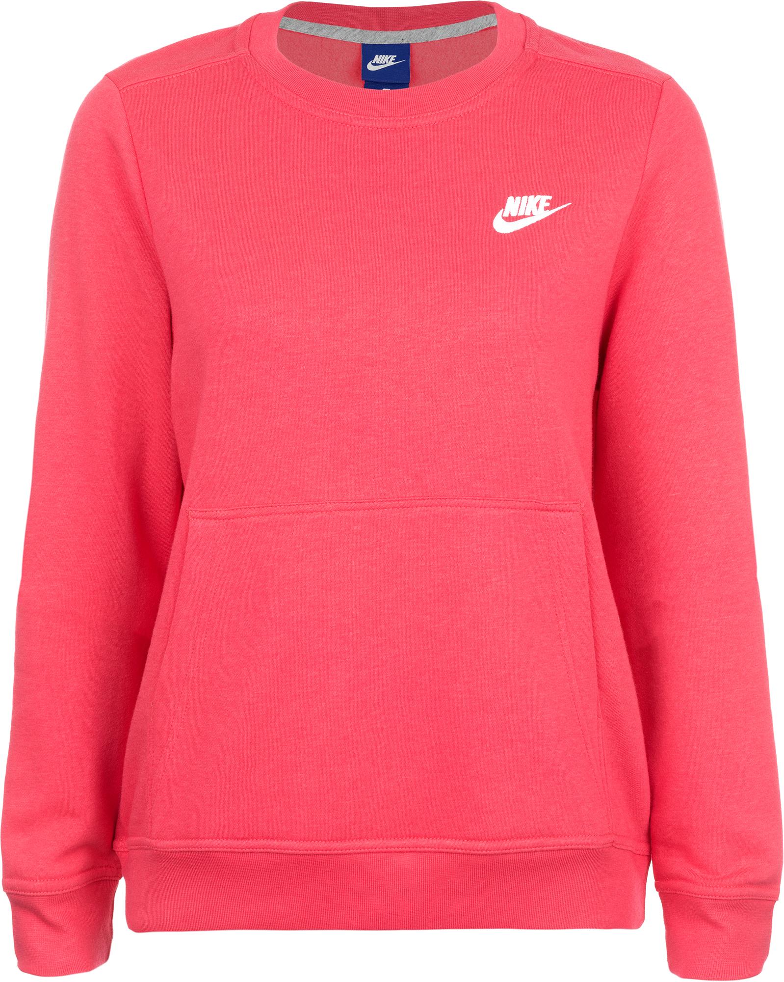 Nike Джемпер женский Nike Sportswear Crew nike ni464dufb649 nike