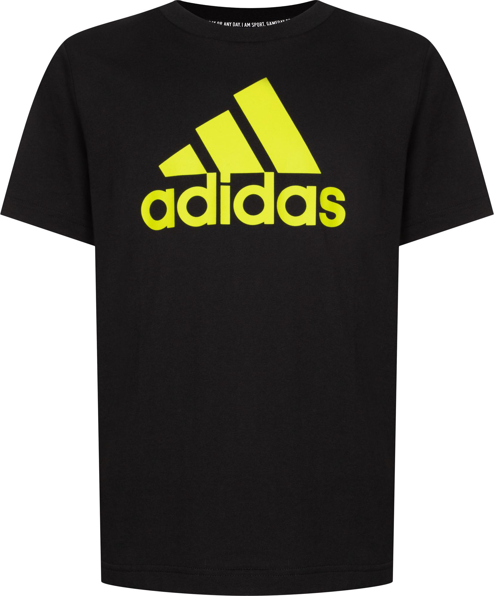 Adidas Футболка для мальчиков Adidas Must Haves Badge of Sport, размер 128 adidas футболка freelift grad linkha