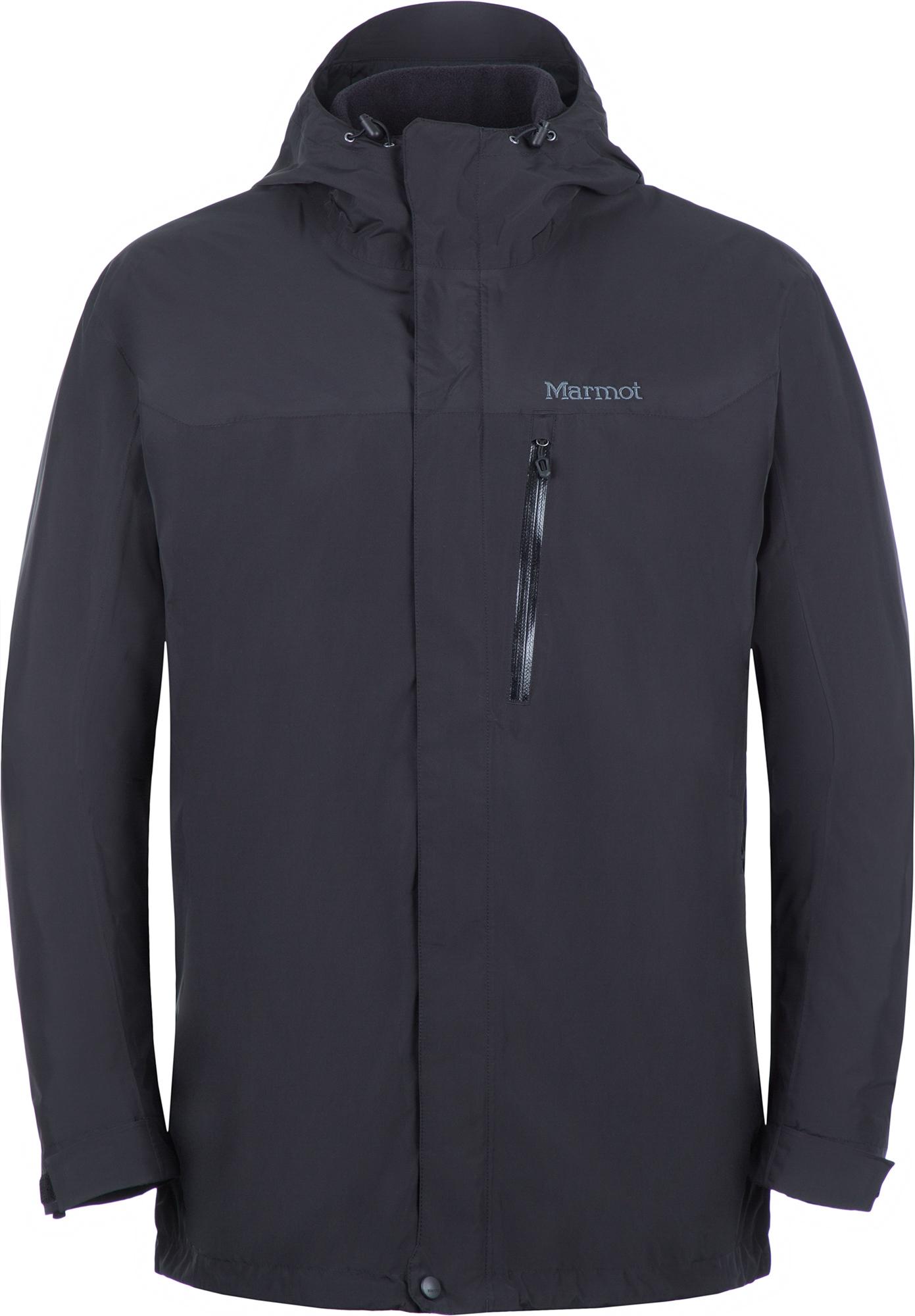 Marmot Куртка 3 в 1 мужская Marmot Ramble Component, размер 60-62 куртка мужская reebok f puff bomber цвет черный dh2140 размер xxl 60 62
