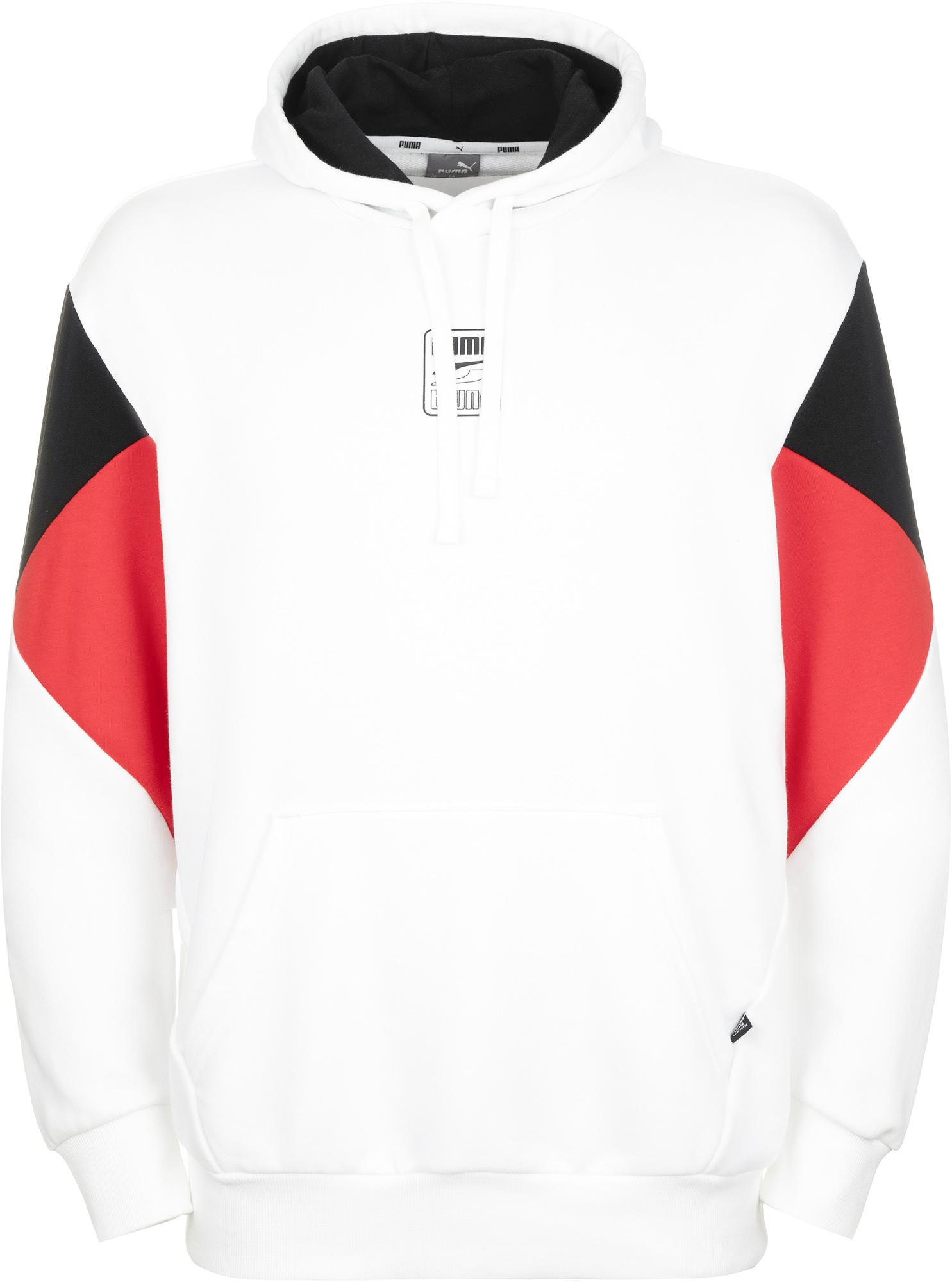 пуховик женский puma 70 30 480 down jacket цвет молочный 85166611 размер m 44 46 Puma Худи мужская Puma Rebel, размер 44-46