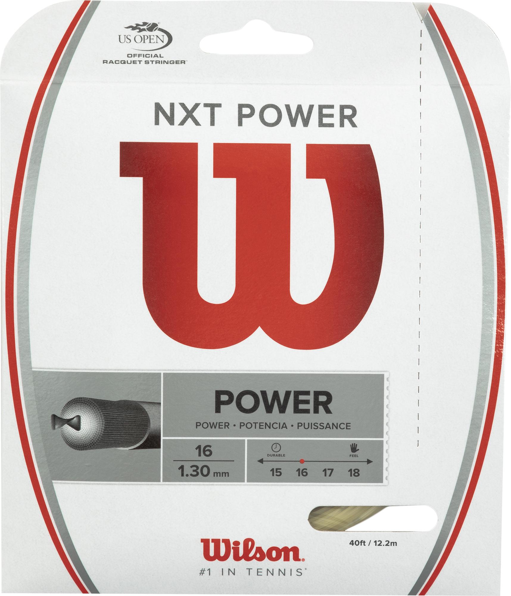 Wilson Струна Wilson NXT Power 16 цена
