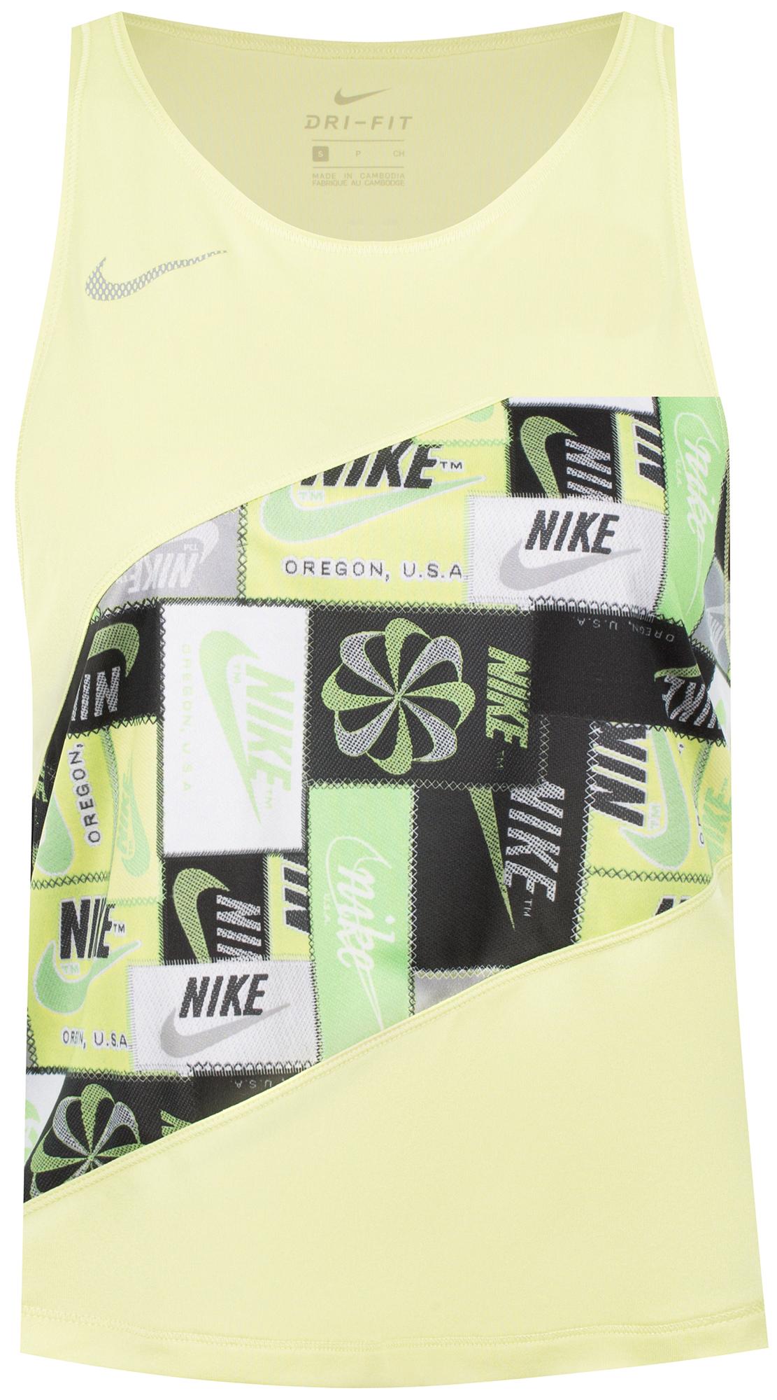 Nike Майка женская Nike, размер 48-50 nike майка женская nike running размер 40 42