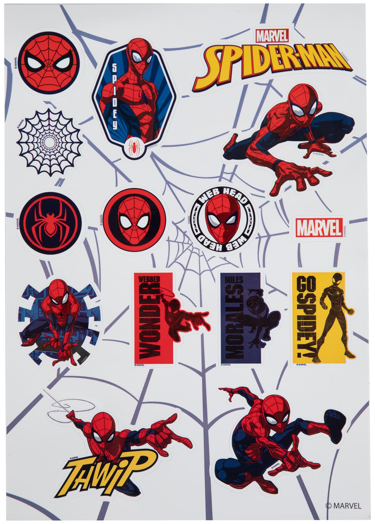 Nordway Наклейки на шлем детские SPIDER-MAN