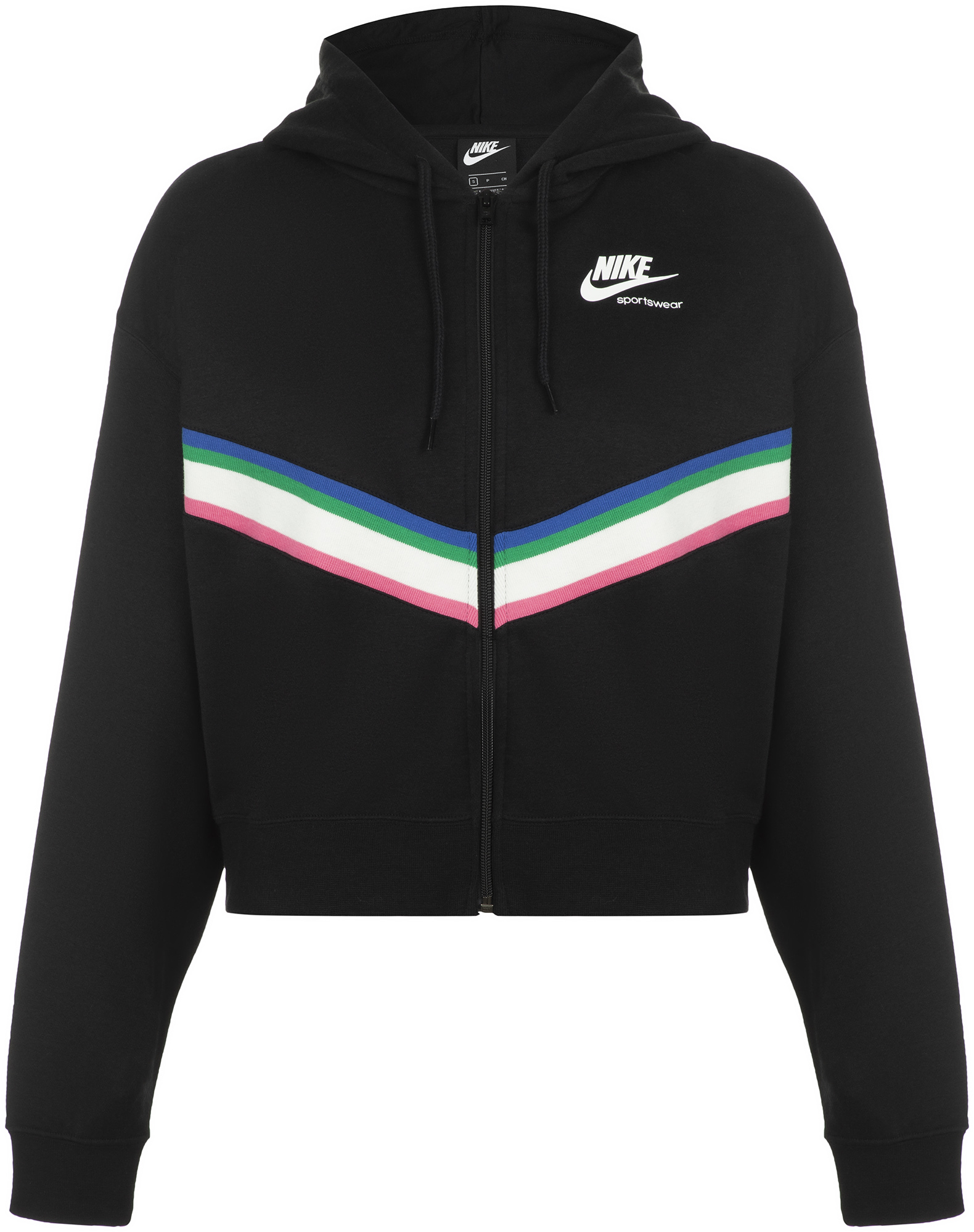 Nike Толстовка женская Nike Sportswear Heritage, размер 40-42