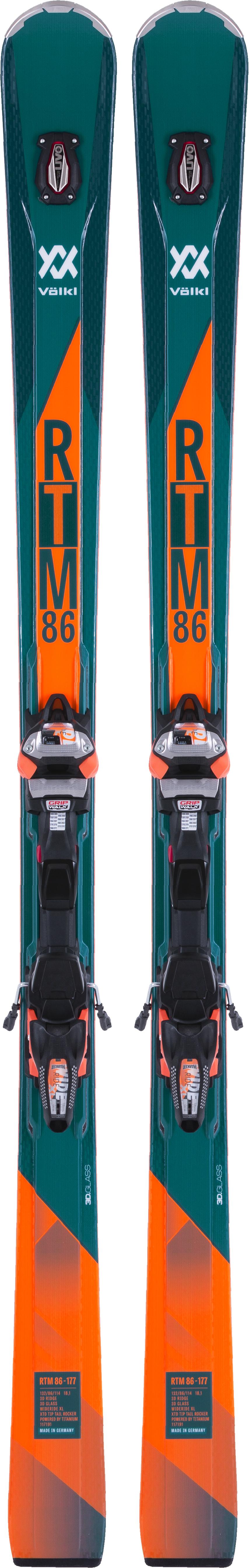 Volkl Горные лыжи Volkl RTM 86 + iPT WR XL 12 FR GW mikasa w6608w junior