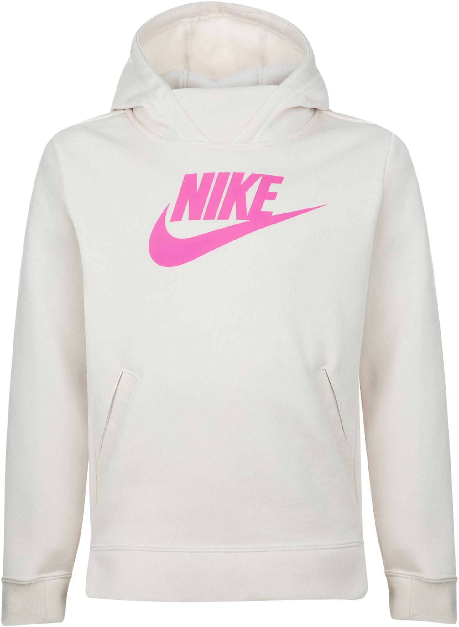 цена Nike Худи для девочек Nike Sportswear, размер 128-137 онлайн в 2017 году