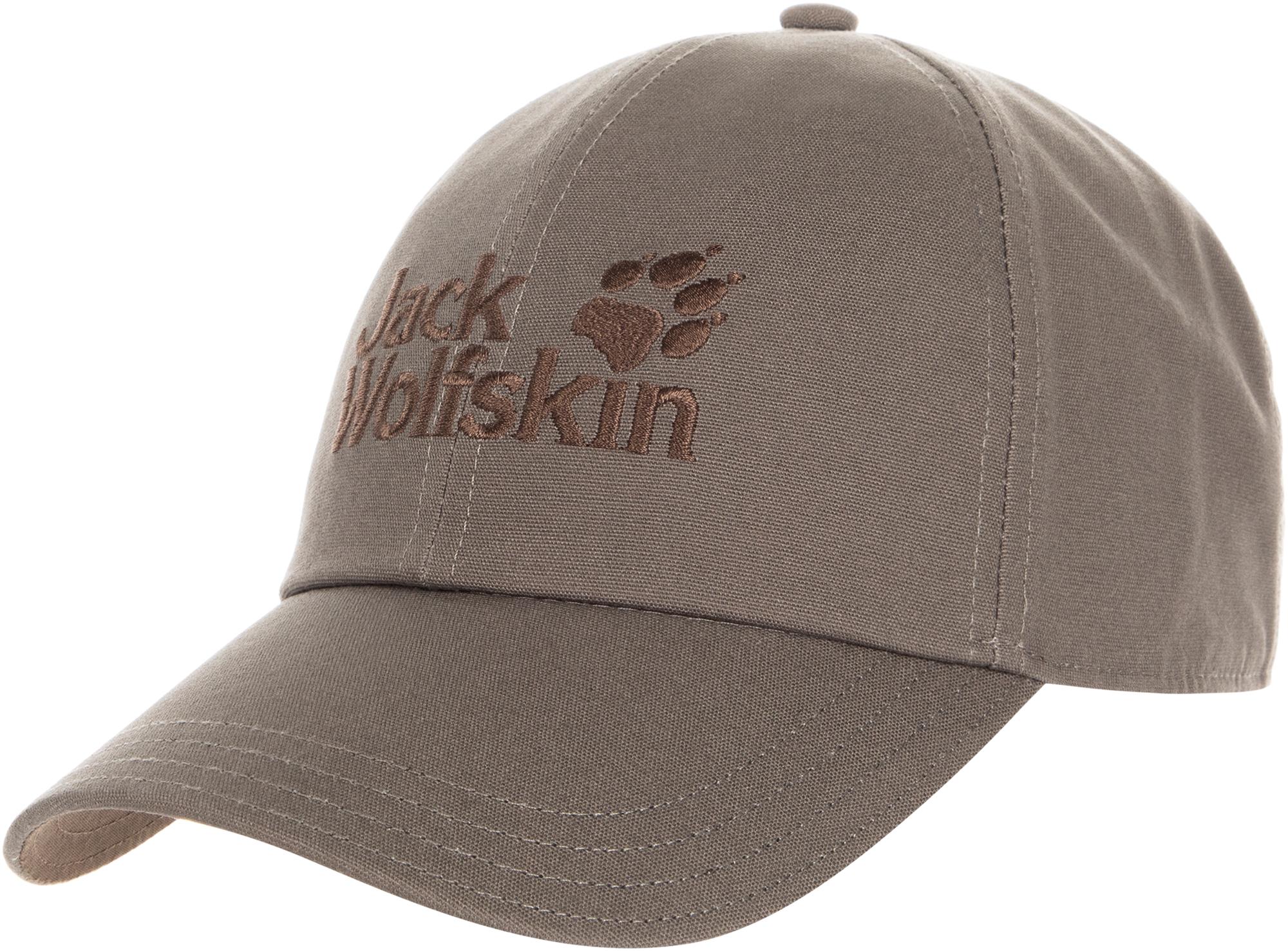 JACK WOLFSKIN Бейсболка Jack Wolfskin, размер 54-57 кепка jack wolfskin supplex canyon cap цвет молочный 1905891 5505 размер l 57 60