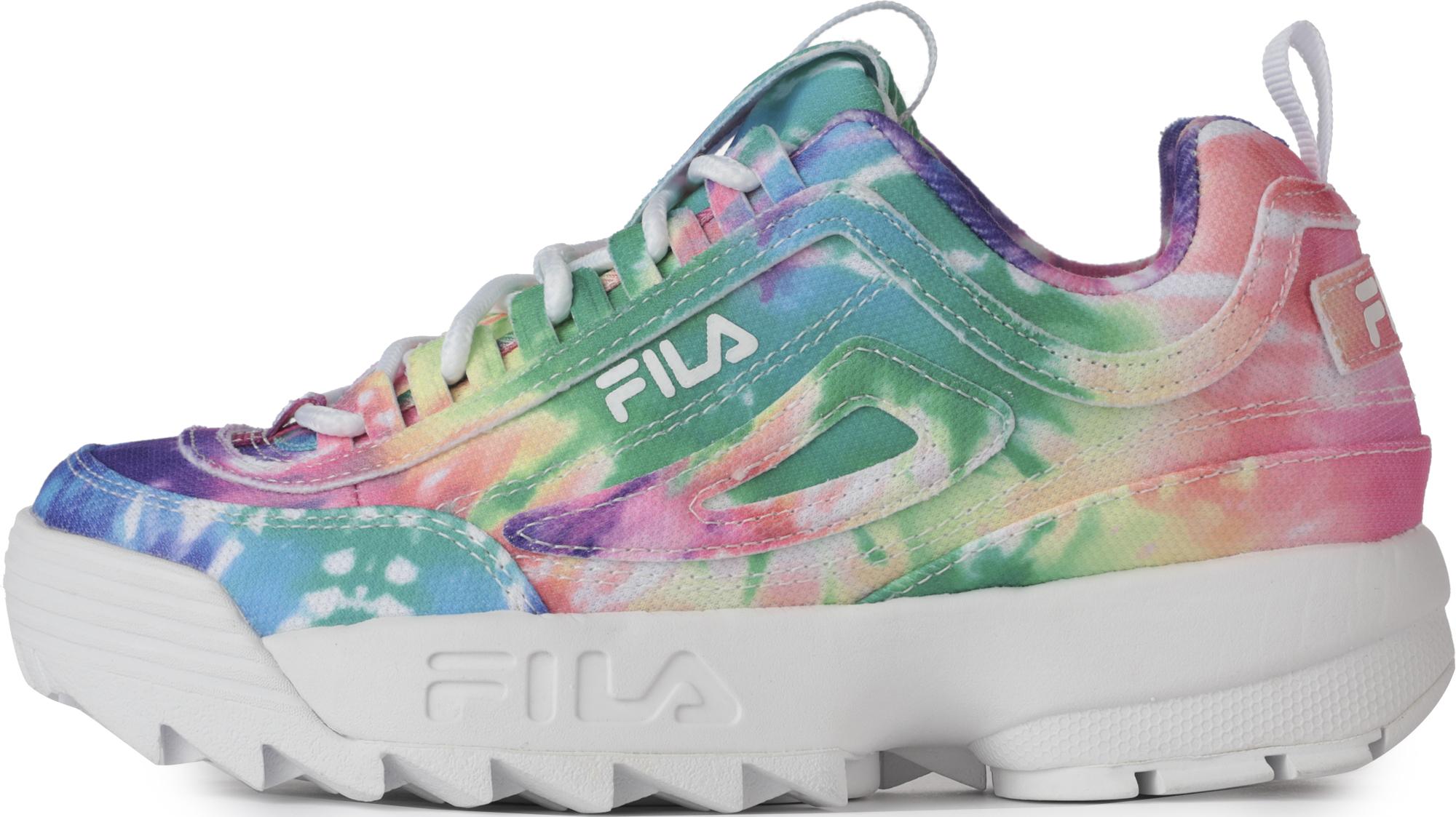 Fila Кроссовки для девочек Fila Disruptor II Tie Dye, размер 34.5