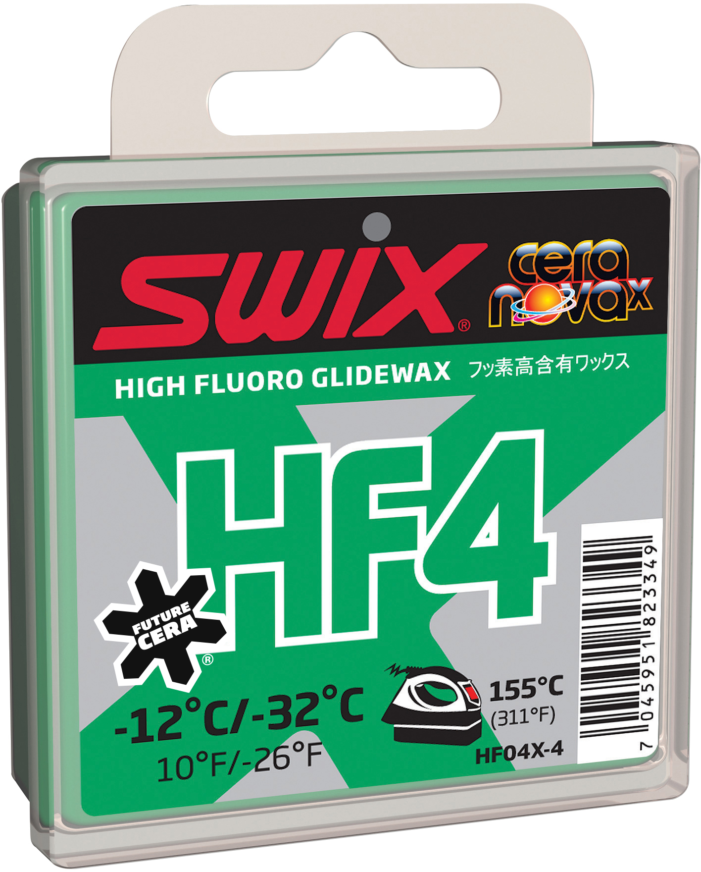 Swix Мазь скольжения HF4X, -12C/-32C