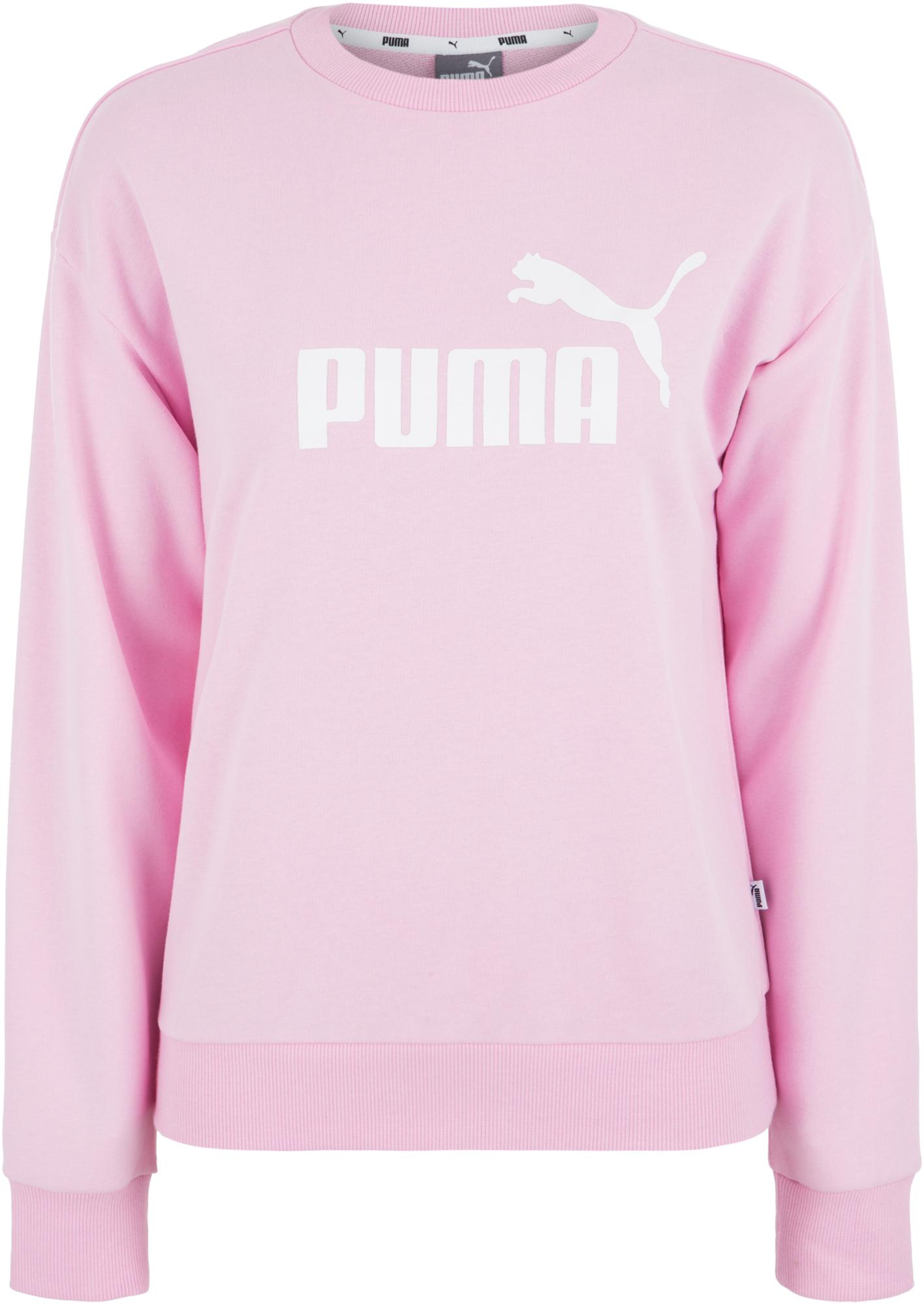 Puma Джемпер женский Puma ESS Logo Crew, размер 46-48