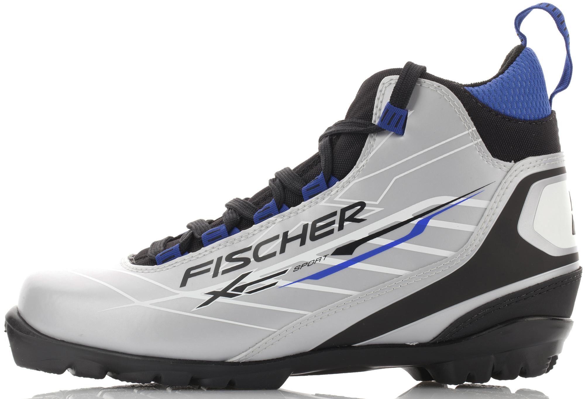 Fischer Ботинки для беговых лыж Fischer XС Sport Royal цены