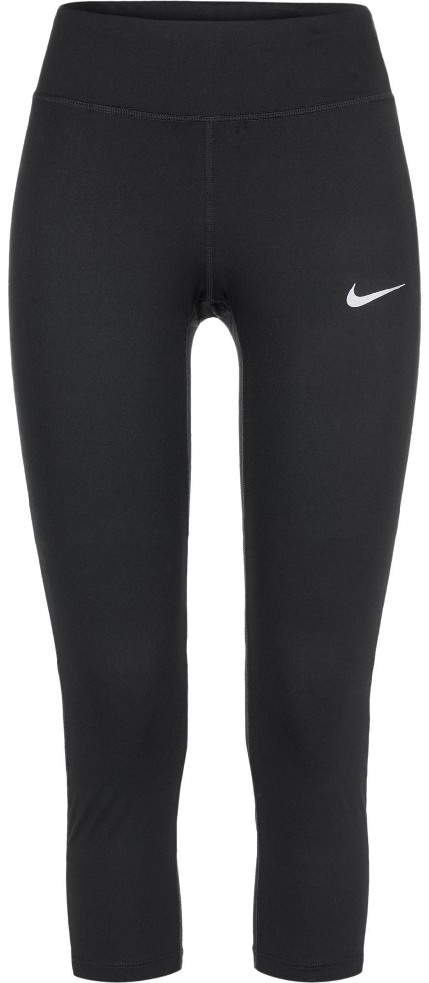Nike Бриджи женские Nike Power Essential бриджи nike бриджи dri fit touch fleece 3 4 pants