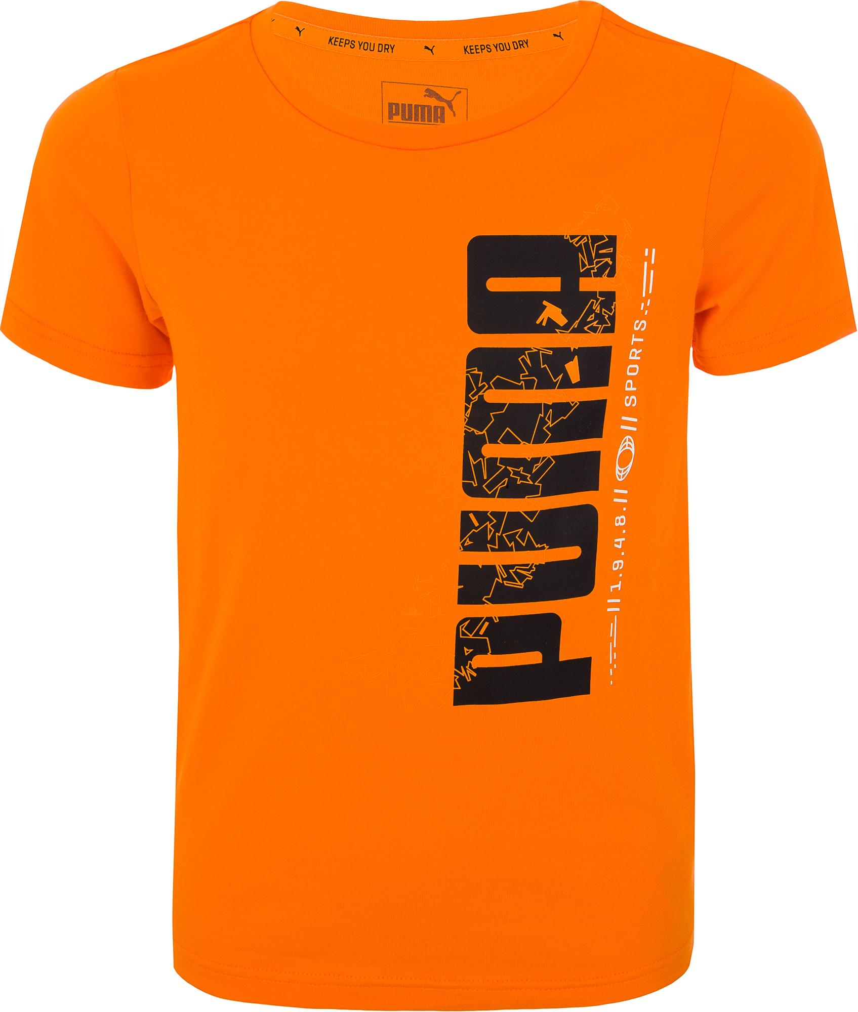 Puma Футболка для мальчиков Puma Active Basic Tee, размер 164 футболка женская puma evo tee цвет персиковый 57511231 размер m 44 46