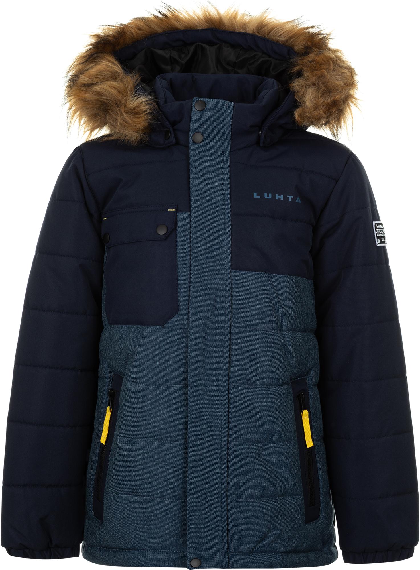 Luhta Куртка утепленная для мальчиков Luhta Kaikko, размер 140 luhta куртка утепленная женская luhta petre размер 52