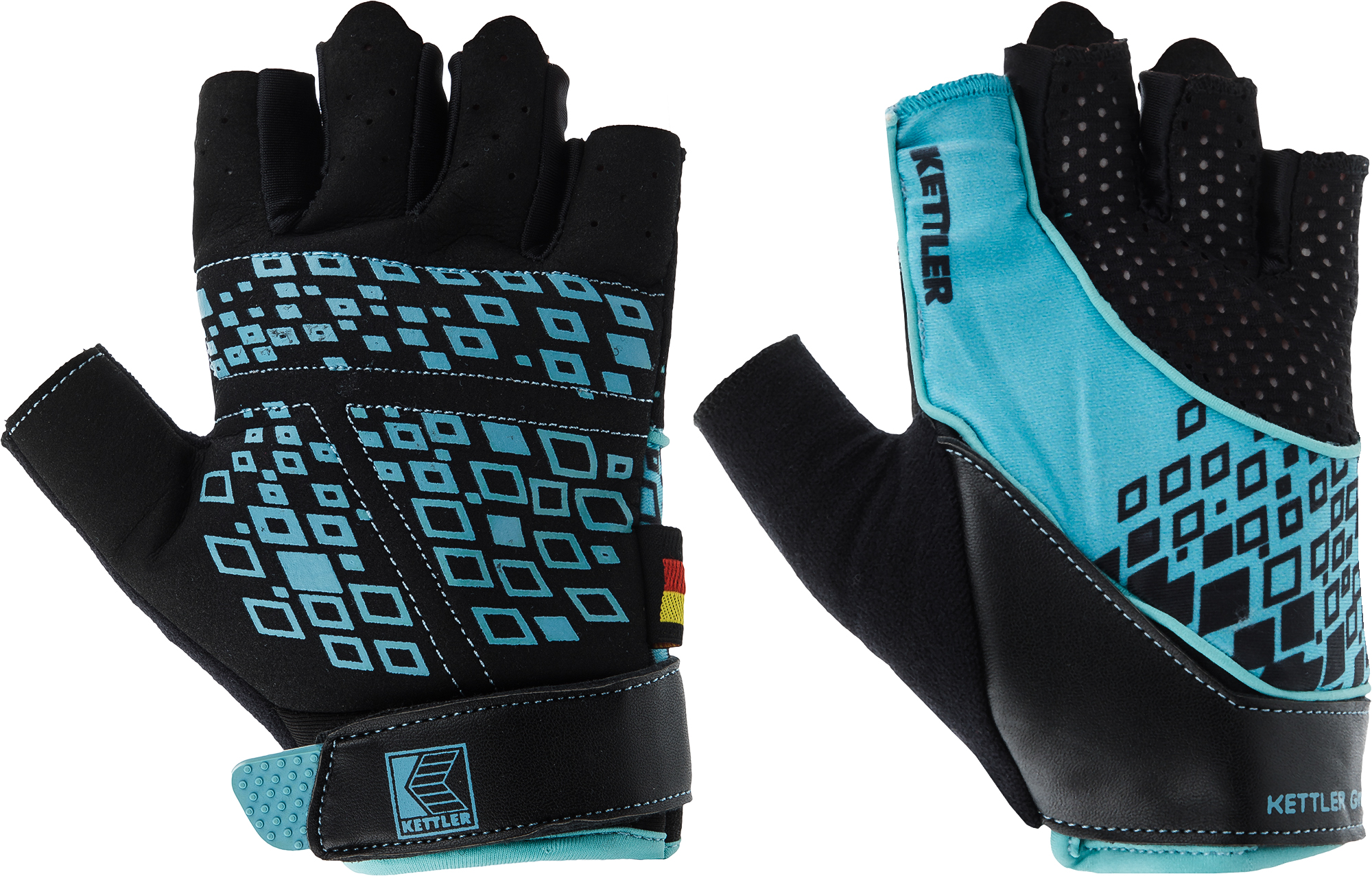 Kettler Перчатки для фитнеса Kettler Fitness Gloves AK-310W-S1, размер 7.5