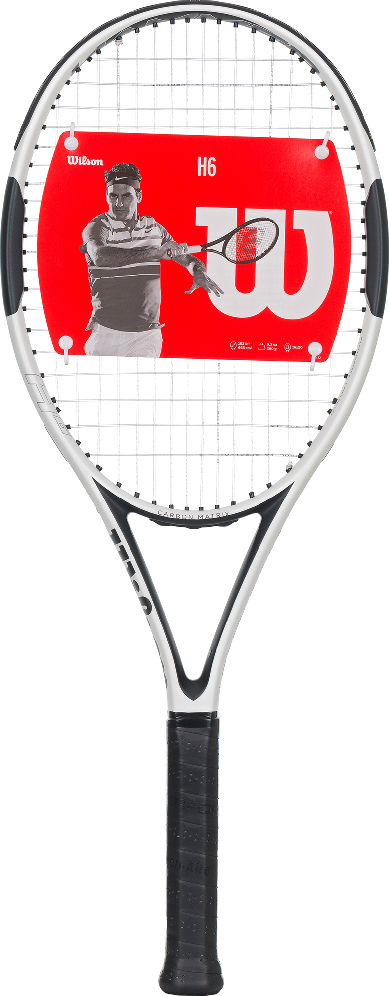 Wilson Ракетка для большого тенниса Wilson H6, размер 3 wilson ракетка для большого тенниса детская wilson roger federer 23 размер без размера