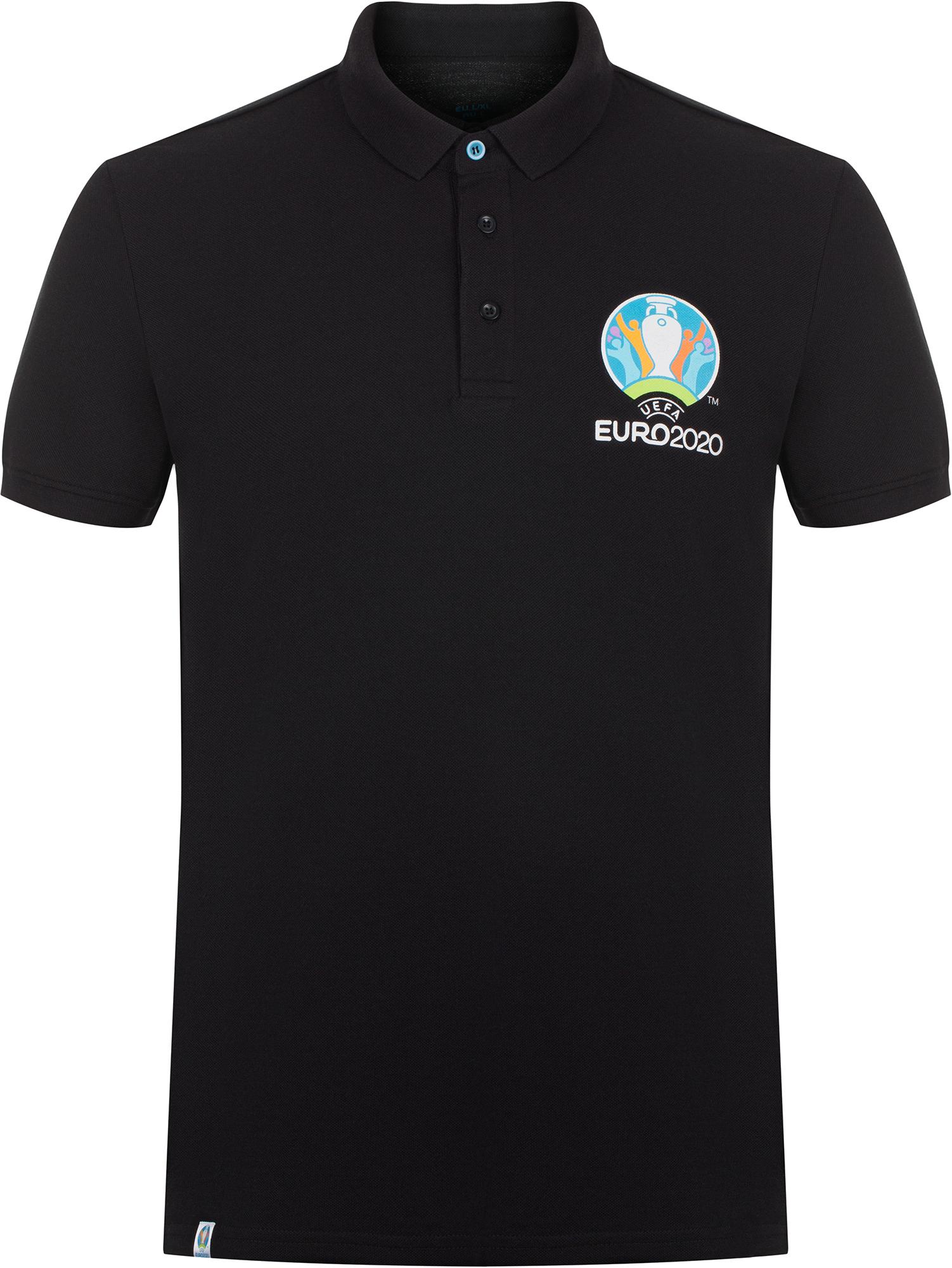 UEFA EURO 2020 Поло мужское UEFA EURO 2020, размер 54 подушка printio uefa euro 2016