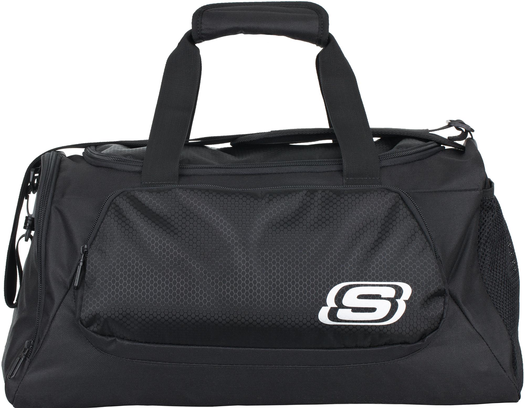 4b4e6462 Вместительная спортивная сумка от skechers. Помимо основного отделения на  молнии в модели предусмотрены специальное отделение для обуви и боковой  карман из ...