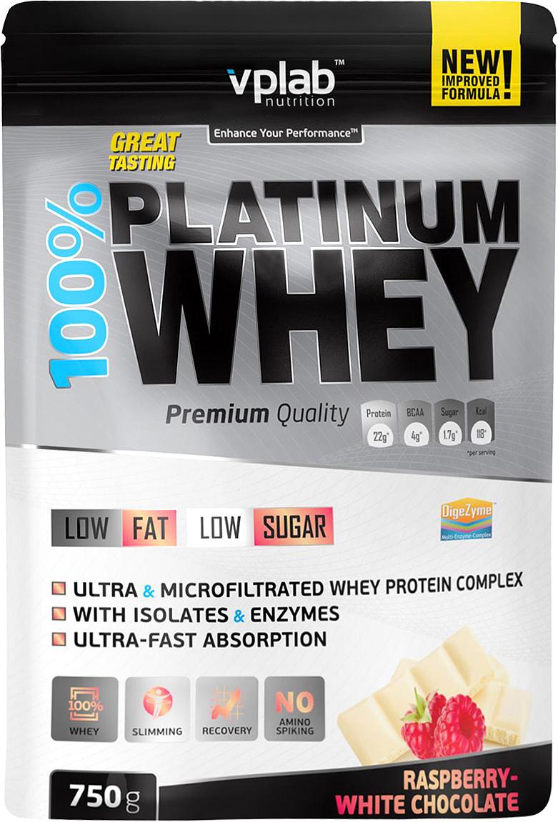 Vplab nutrition Протеин, малина и белый шоколад (750 гр)