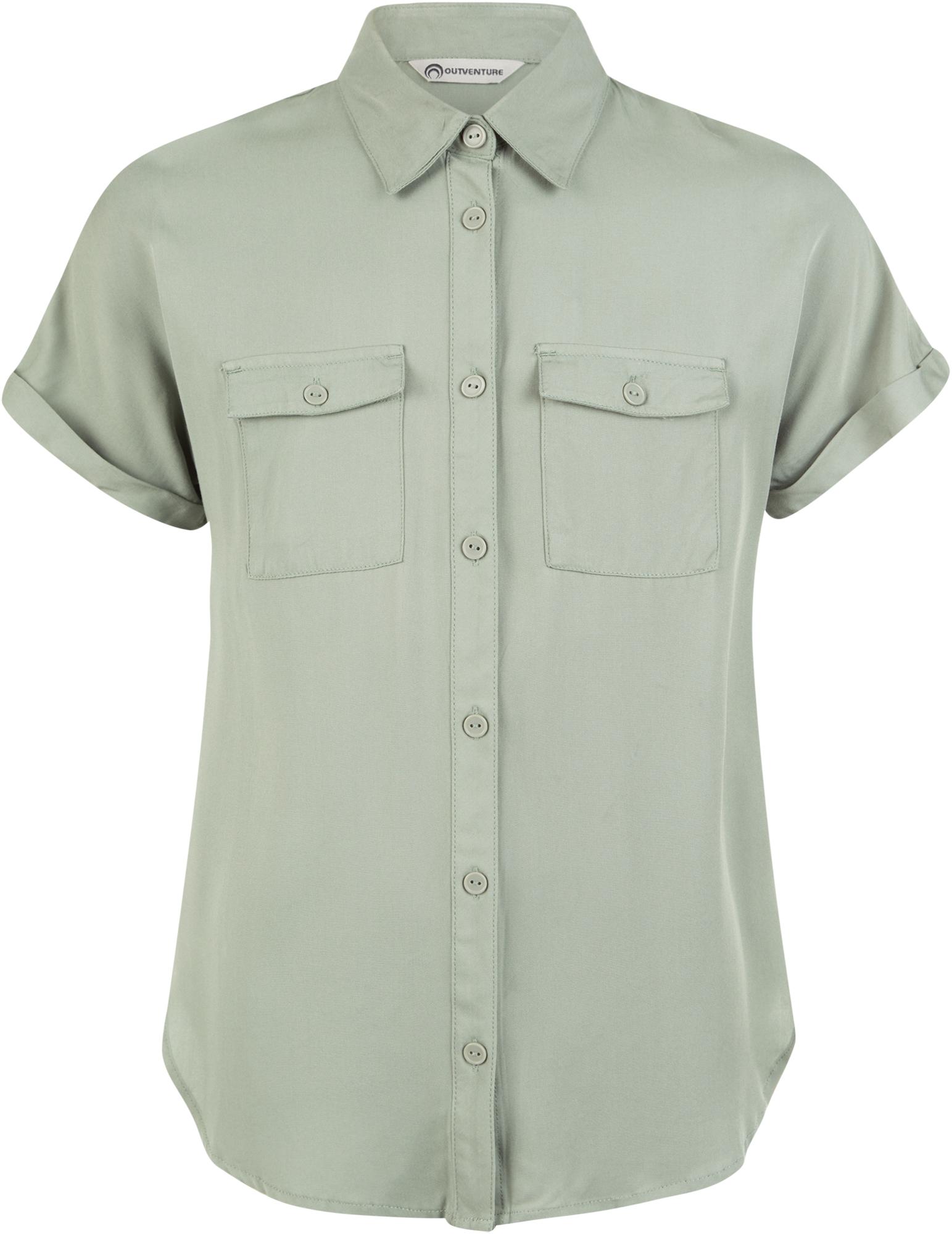 цены Outventure Рубашка с коротким рукавом для девочек Outventure, размер 134