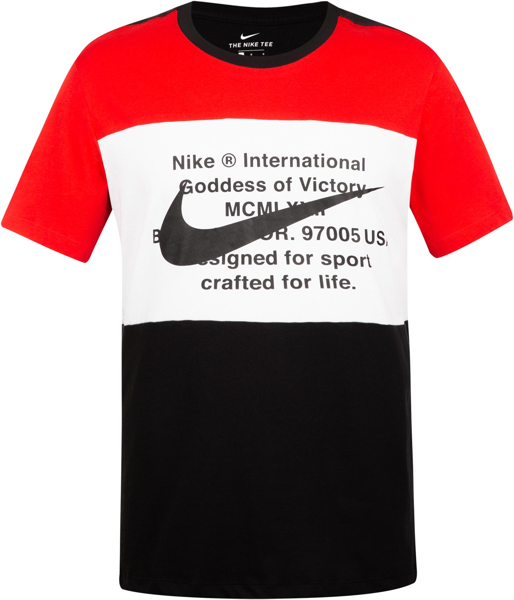 Nike Футболка мужская Nike Swoosh, размер 50-52 цена