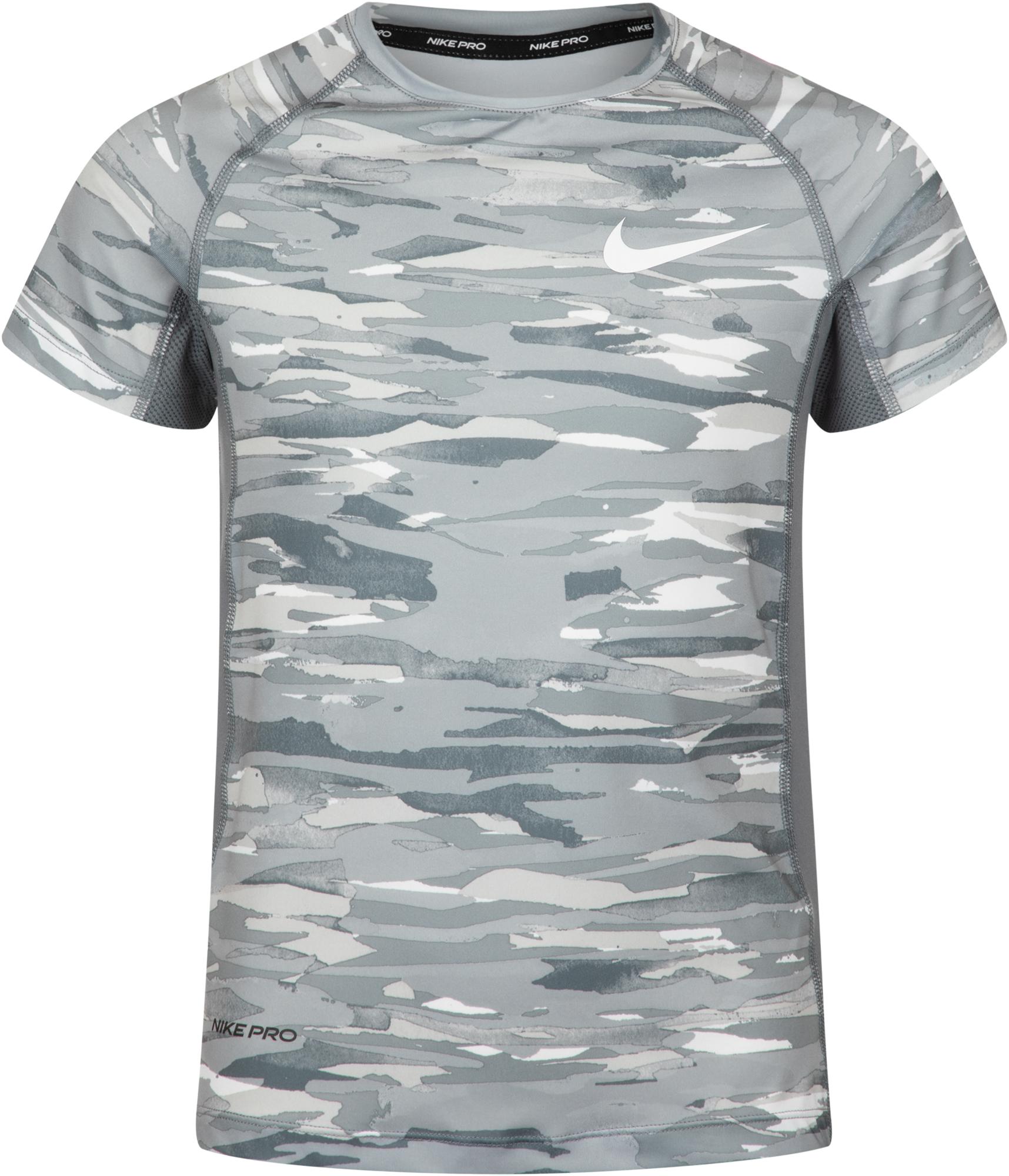 Nike Футболка для мальчиков Nike Pro, размер 137-147 nike футболка для мальчиков nike geo basketball