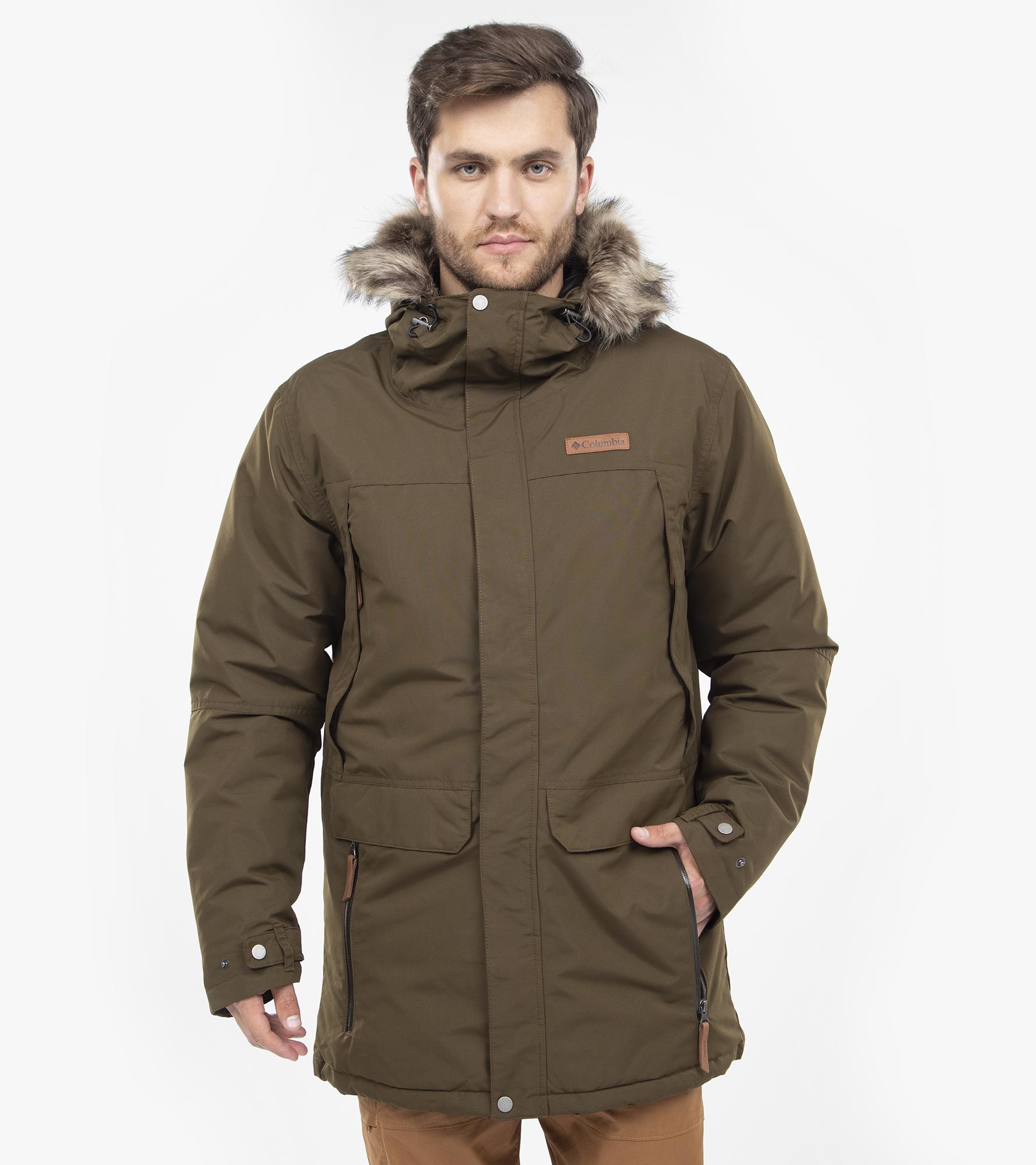 Columbia Куртка пуховая мужская Columbia South Canyon, размер 52-54 цена