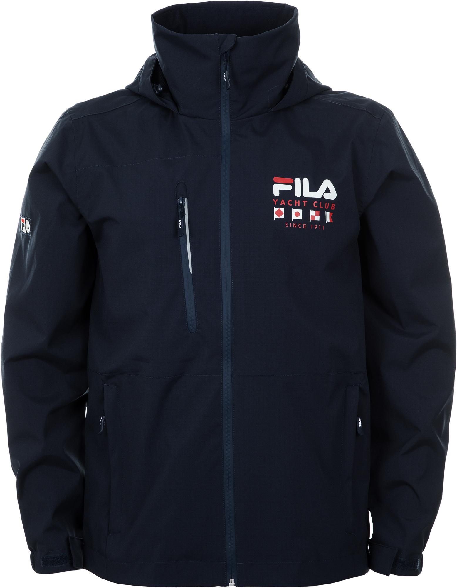 Fila Ветровка мужская Fila, размер 54 куртка мужская fila цвет черный a19afljam07 99 размер m 48