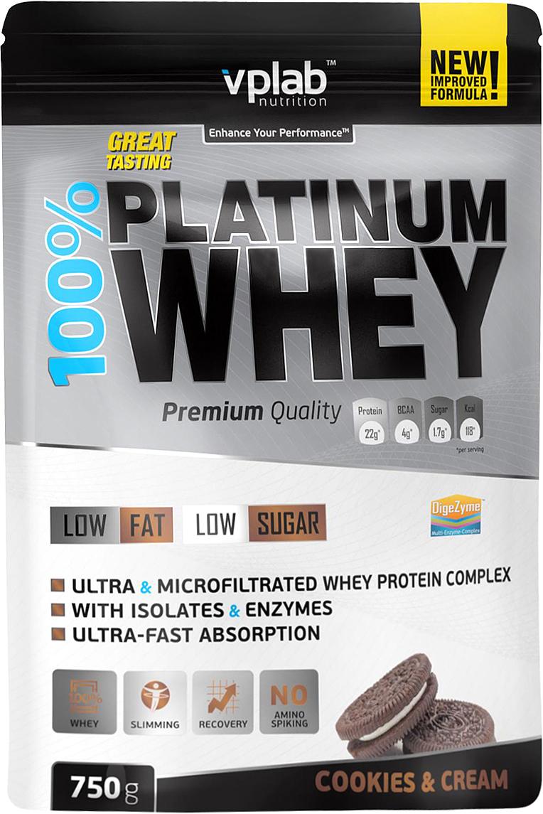 Фото - Vplab nutrition Протеин, печенье и крем (750 гр) протеин