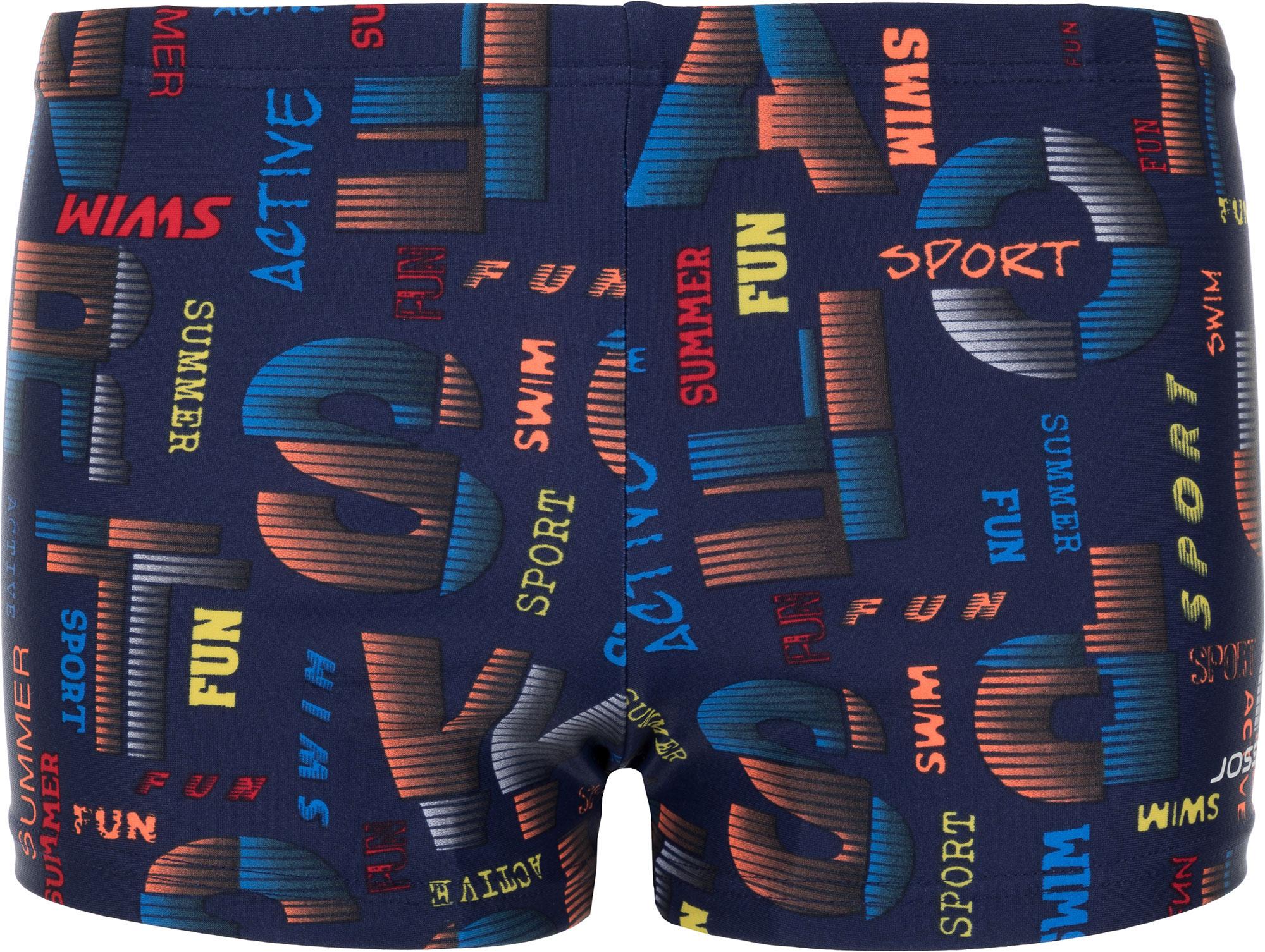 Joss Плавки-шорты для мальчиков Joss, размер 140 acoola шорты детские для мальчиков цвет желтый размер 116 21120420008