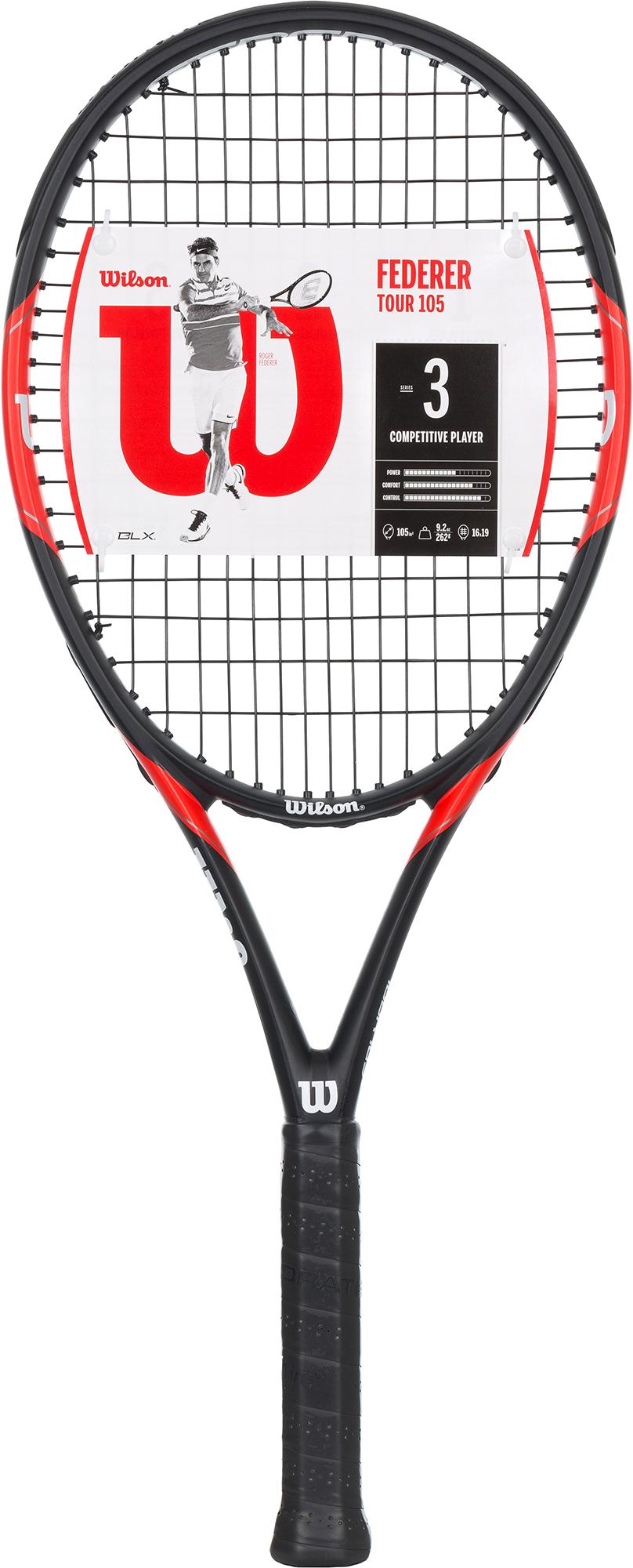 Wilson Ракетка для большого тенниса Wilson Federer Tour сетки для тенниса большого