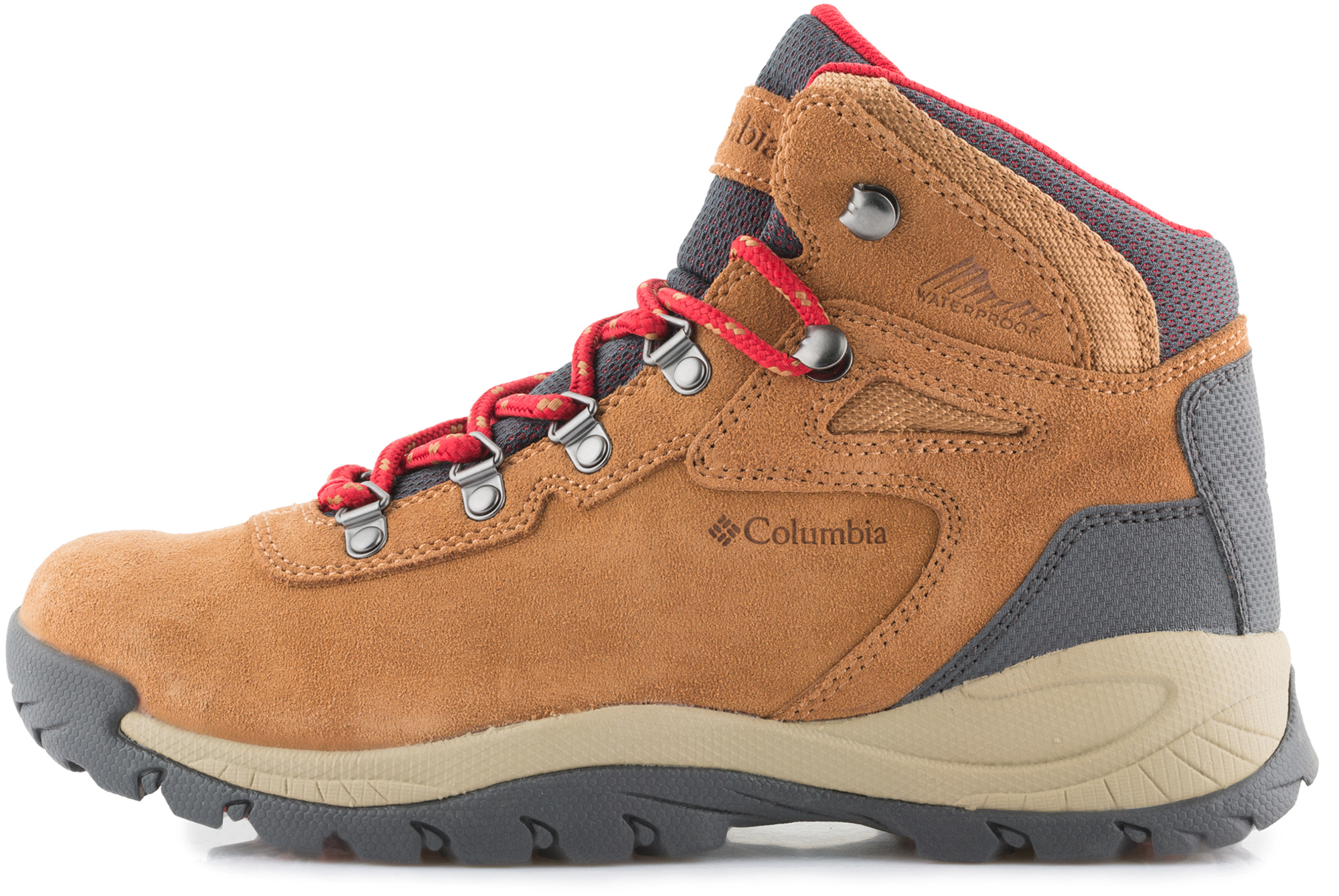 Columbia Ботинки женские Columbia Newton Ridge Plus Waterproof Amped ботинки трекинговые columbia columbia co214ammeg99